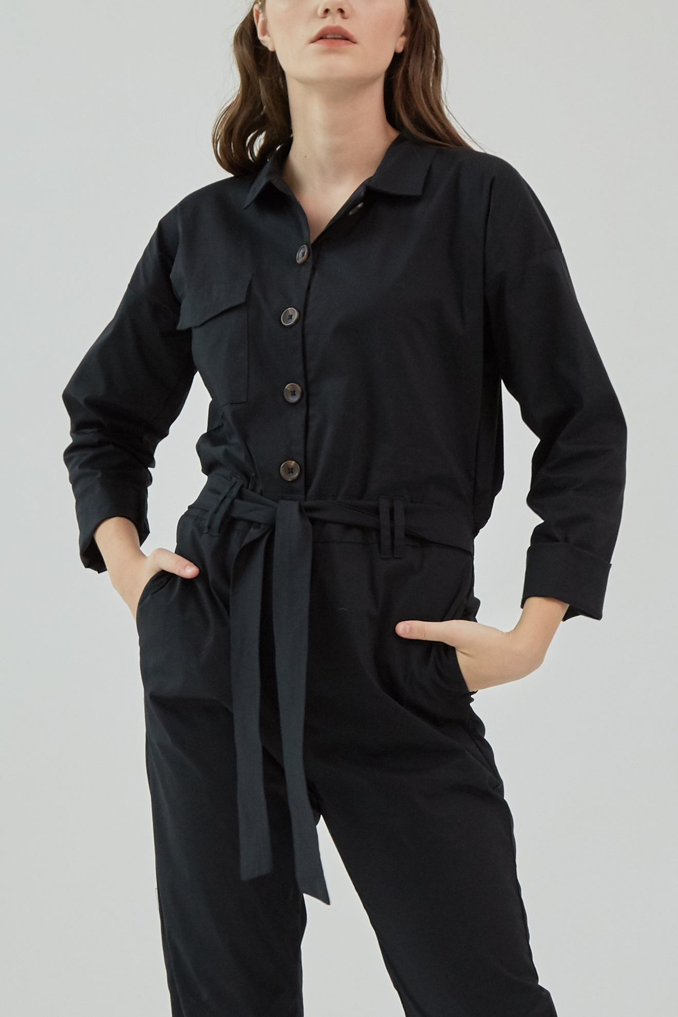Picture of Jaxon Jumpsuit  Black
