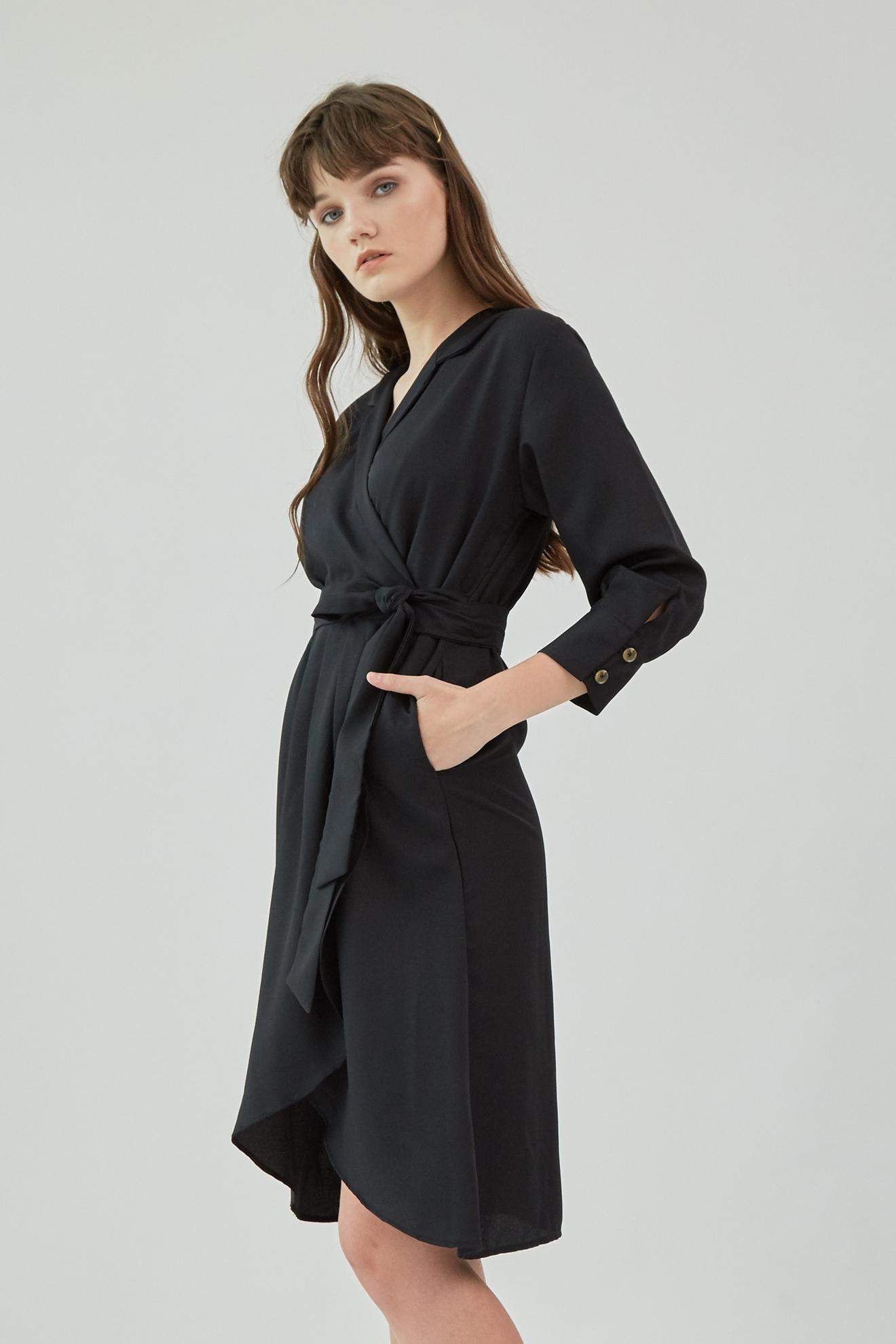Picture of Delisa Dress Black