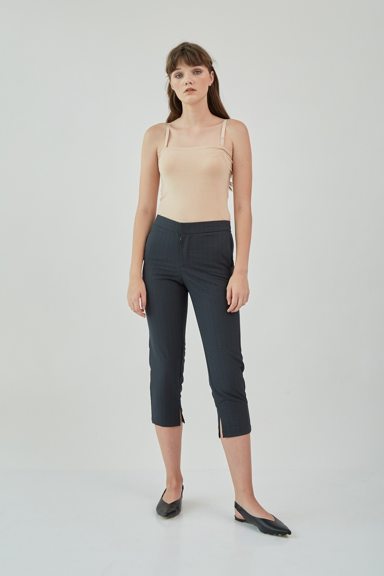 Picture of Kezia Pants DarkGreyCheckered