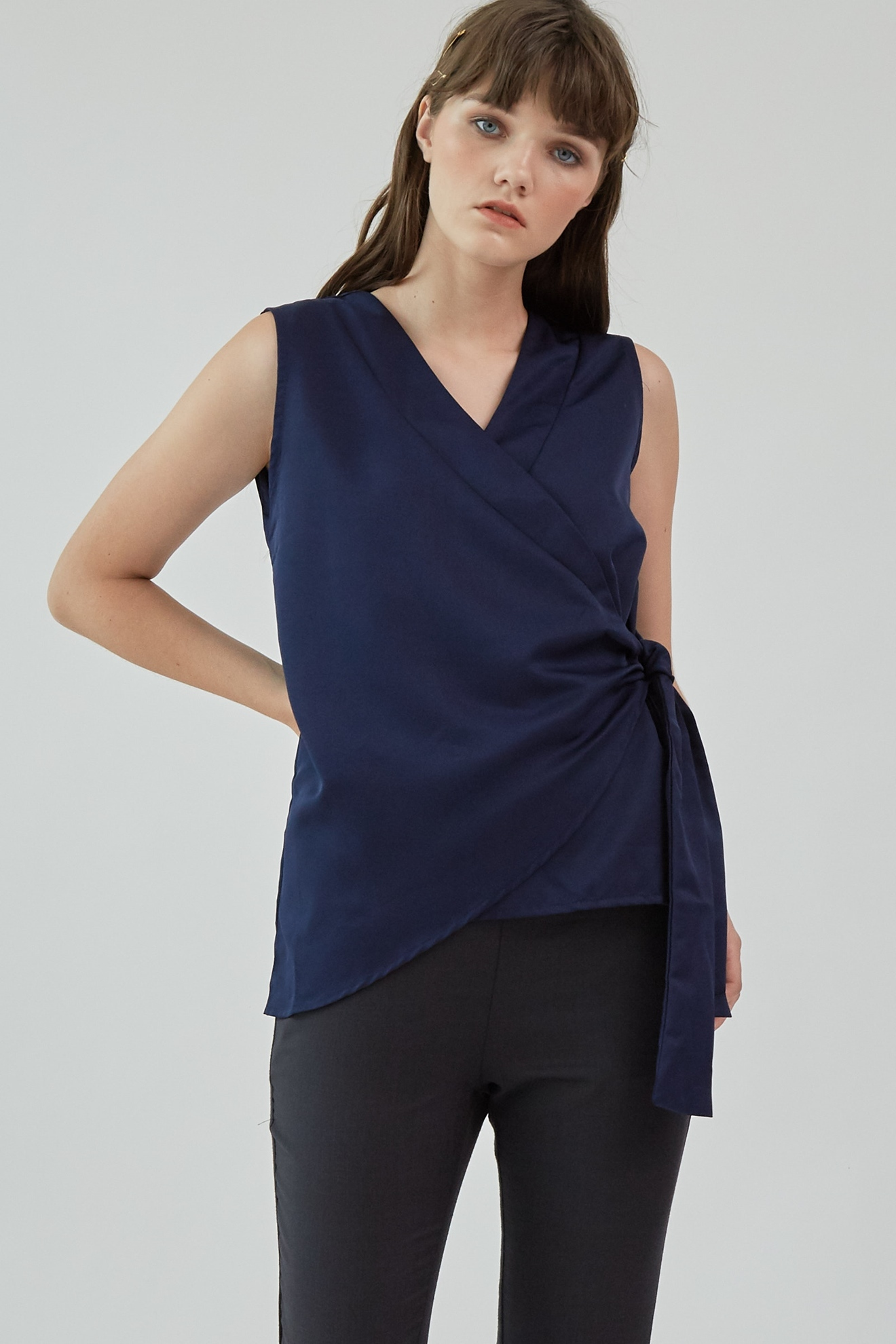 Picture of Lyla Blouse Navy