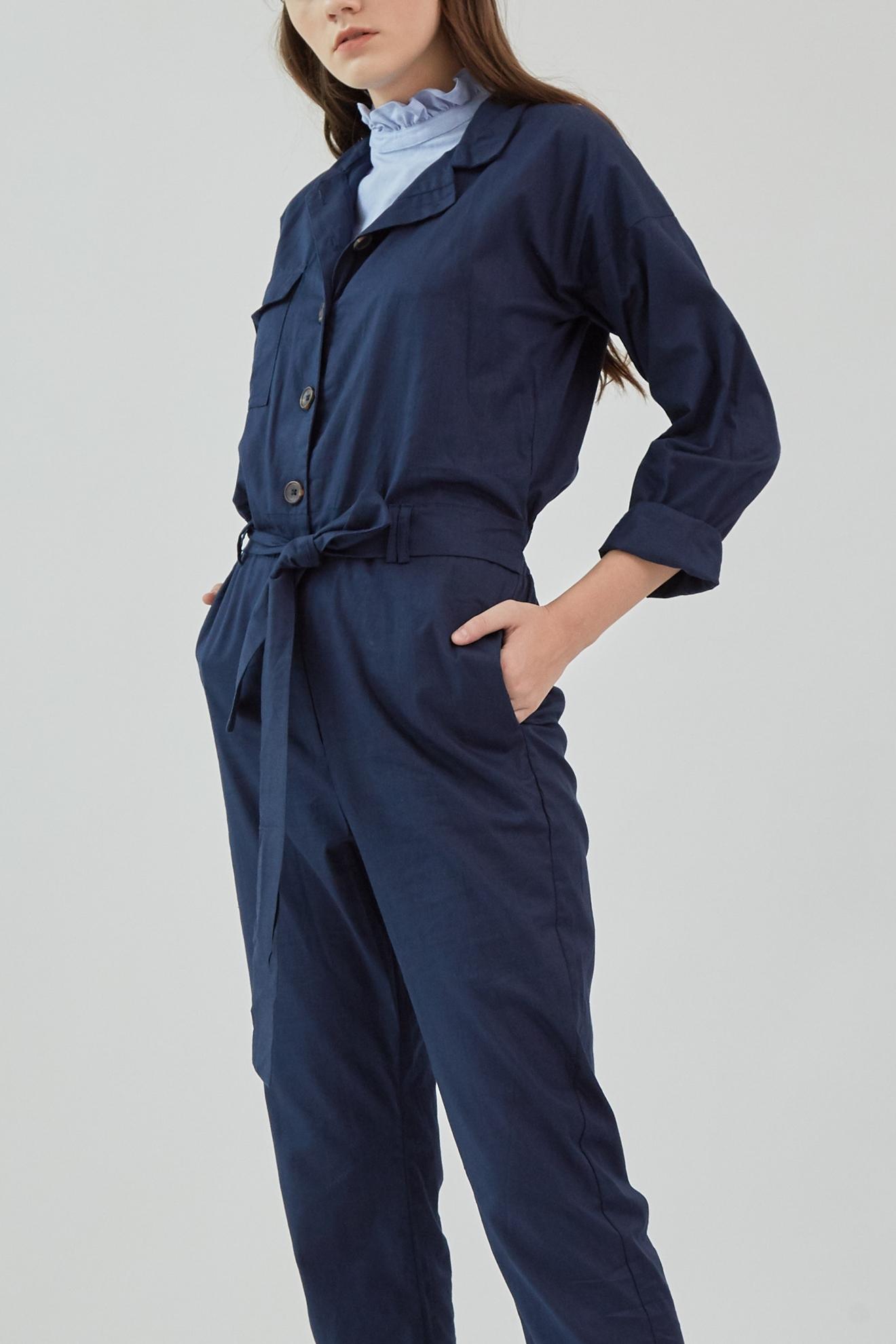 Picture of Jaxon Jumpsuit Navy