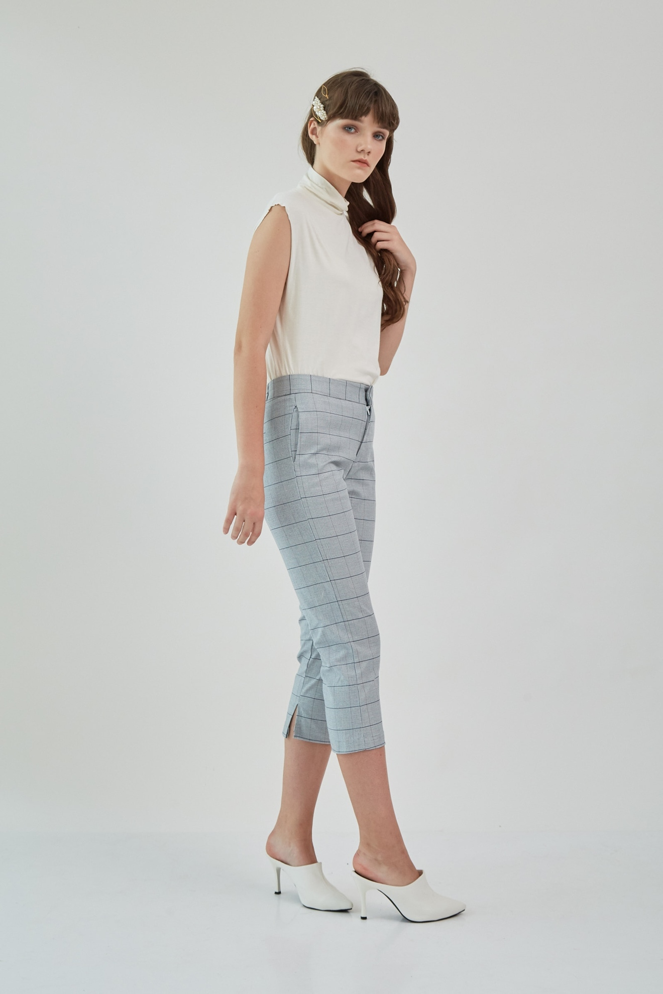 Picture of Kezia Pants GreyCheckered