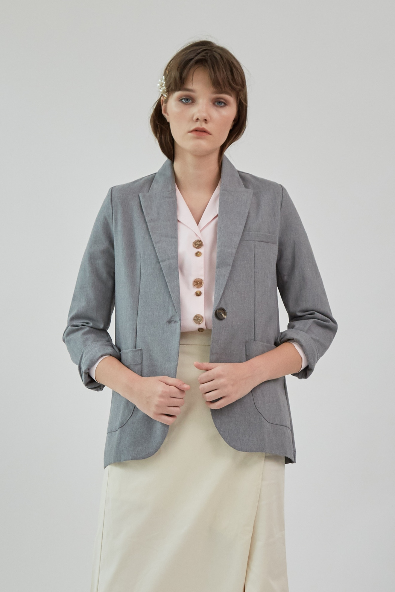 Picture of Aita Blazer MistyGrey