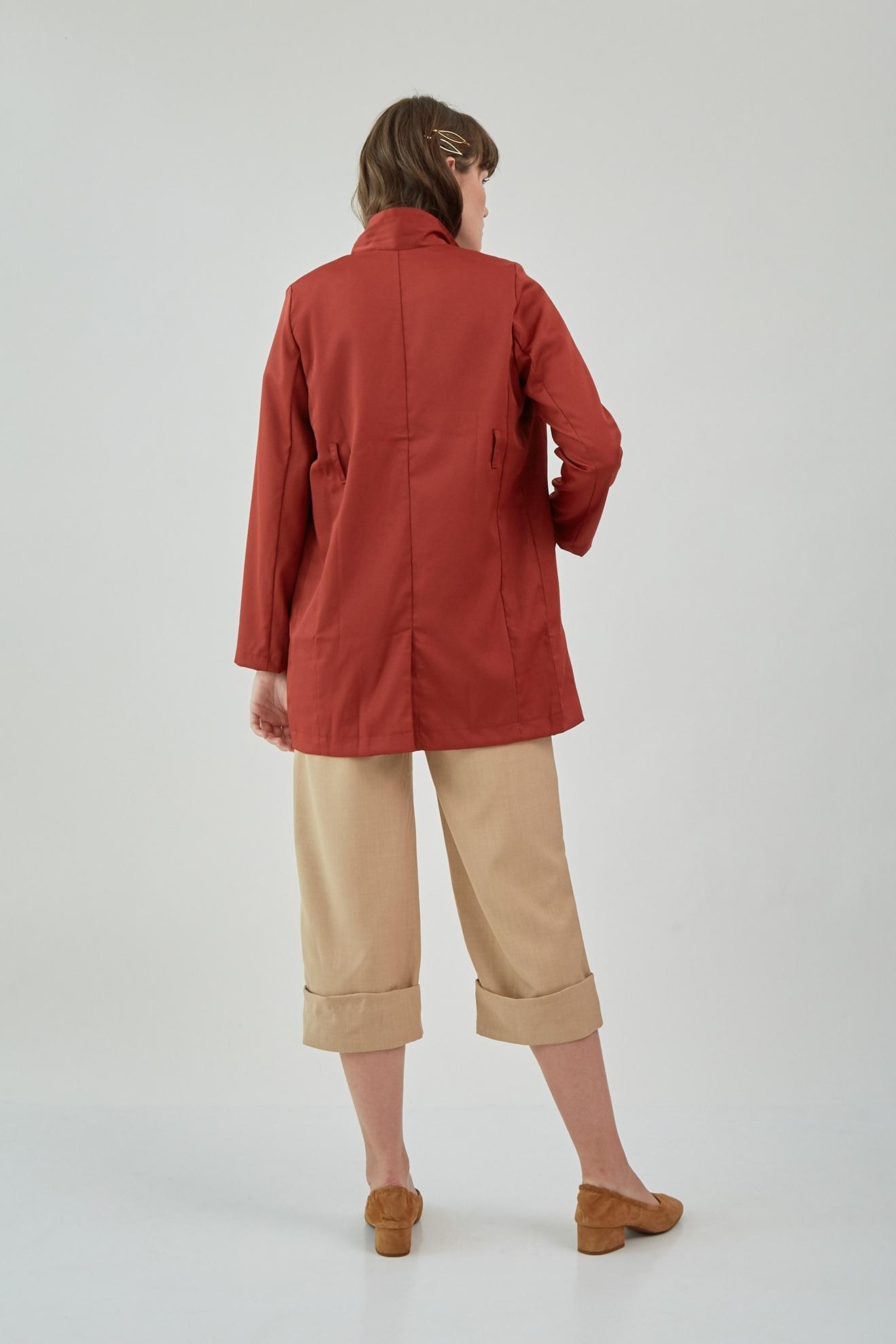 Picture of Luvis Blazer OrangeBrick