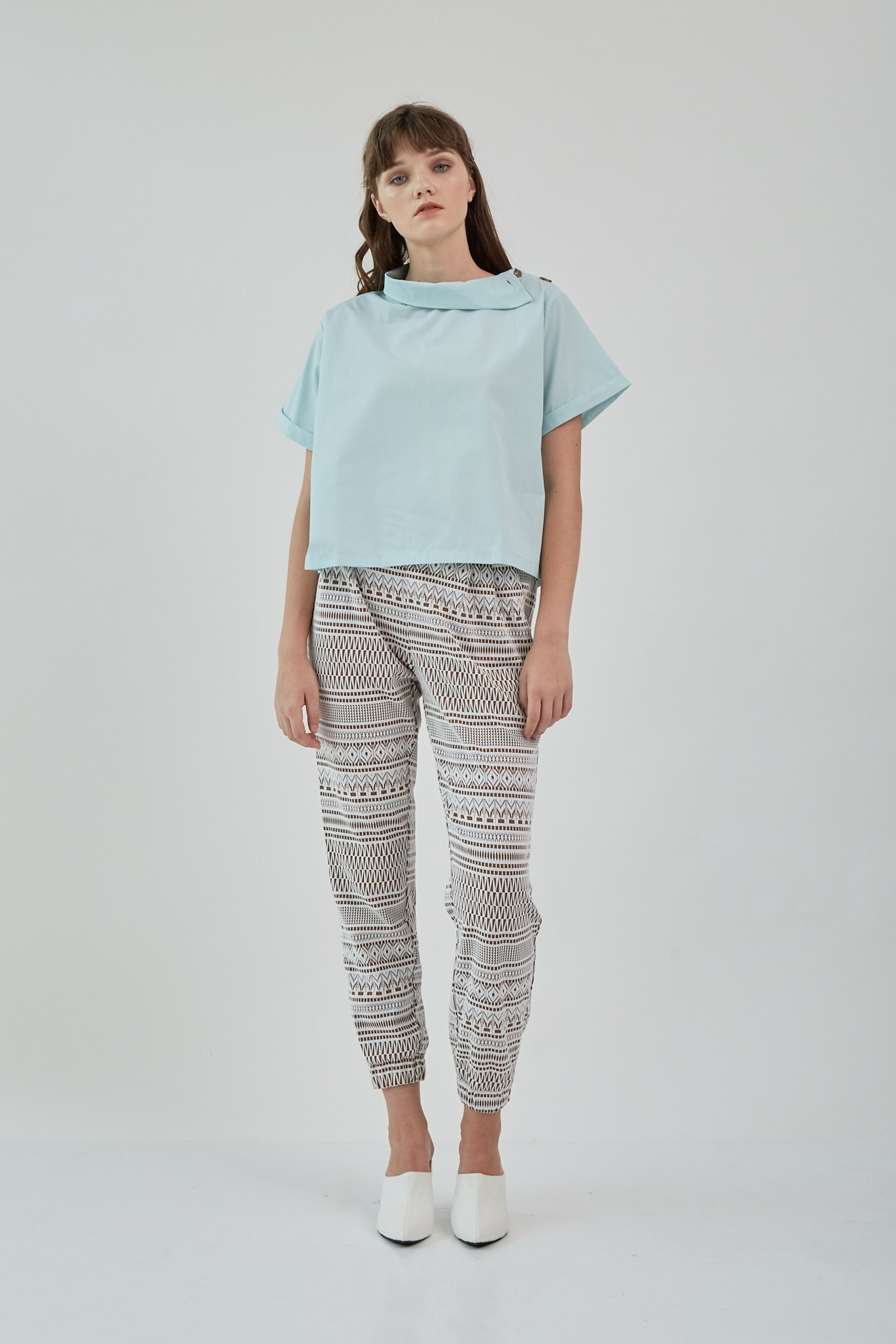 Picture of Kella Pants BrownPattern