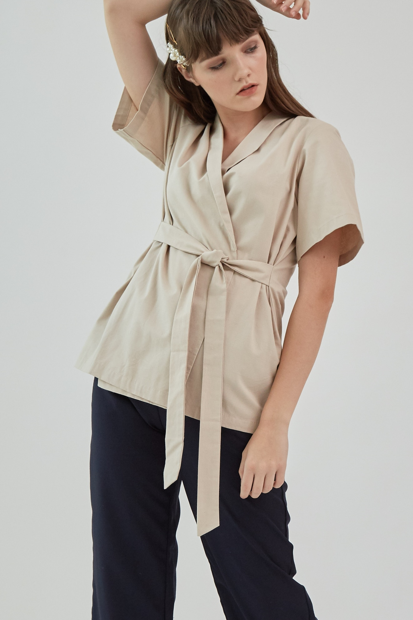 Picture of Dayana Blouse WhiteCoffee
