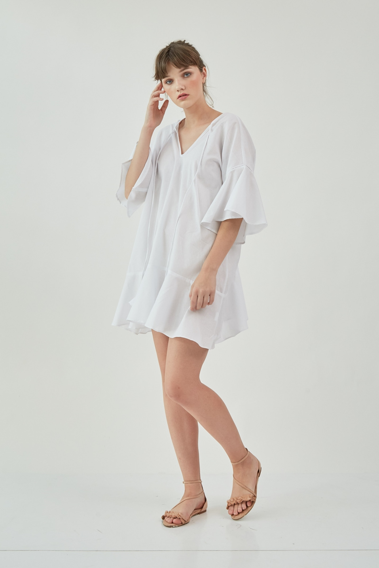 Picture of Kenna Dress Ivory