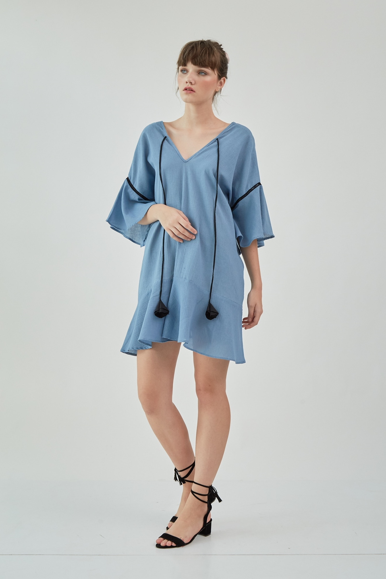 Picture of Kenna Dress Mauve Blue
