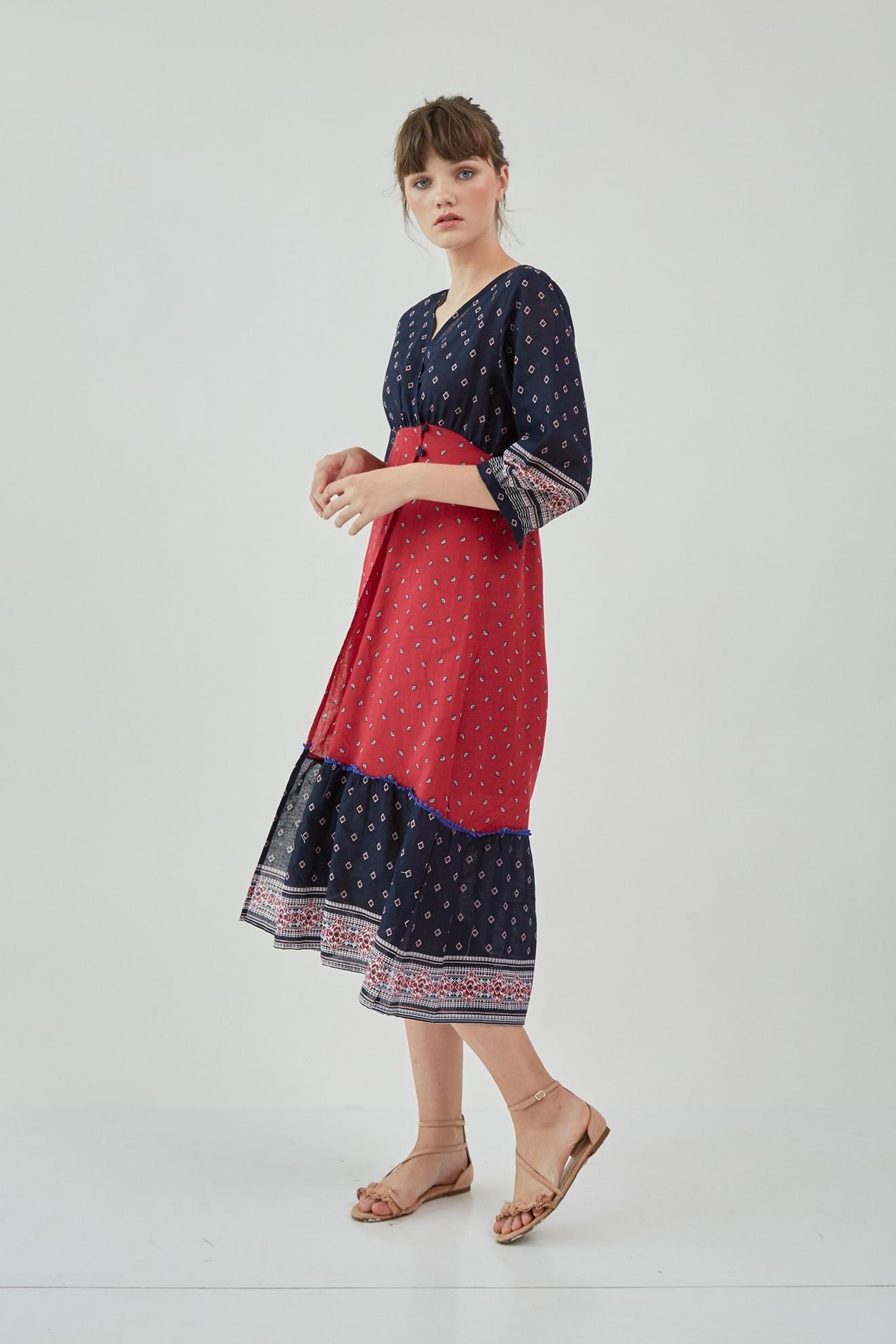Picture of Etania Dress Full Pattern