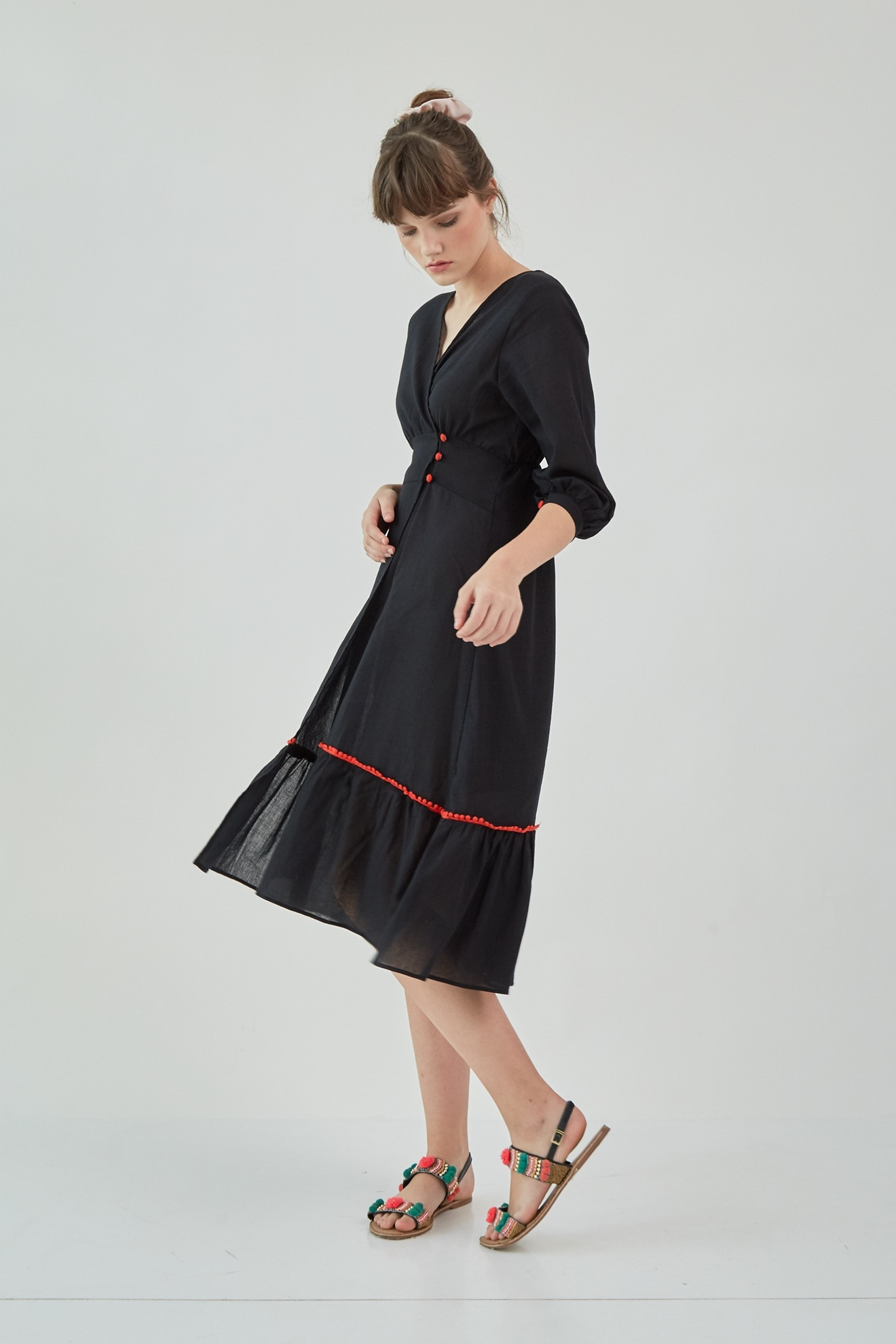 Picture of Etania Dress Black