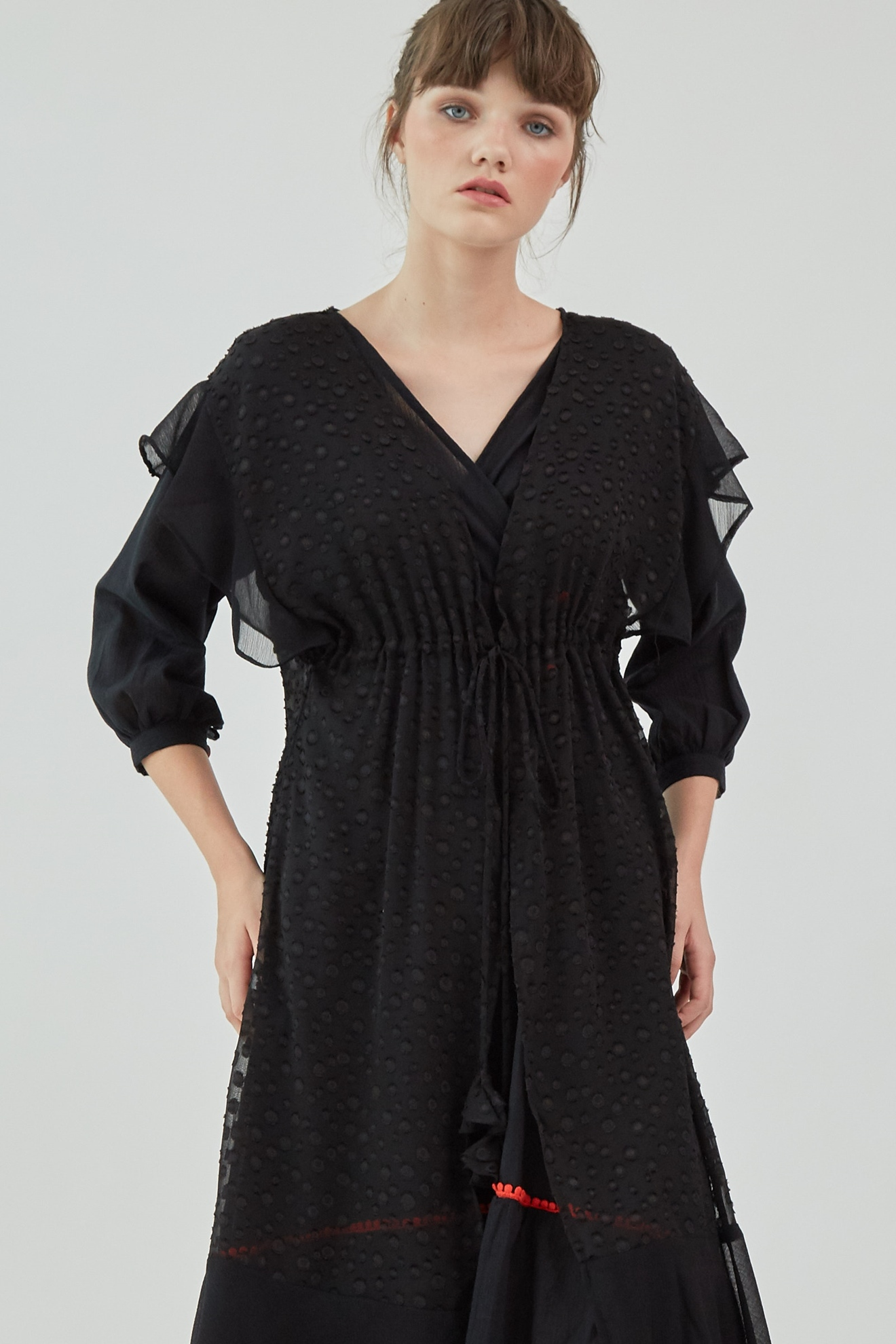 Picture of Everdeen Cardigan Black Dot