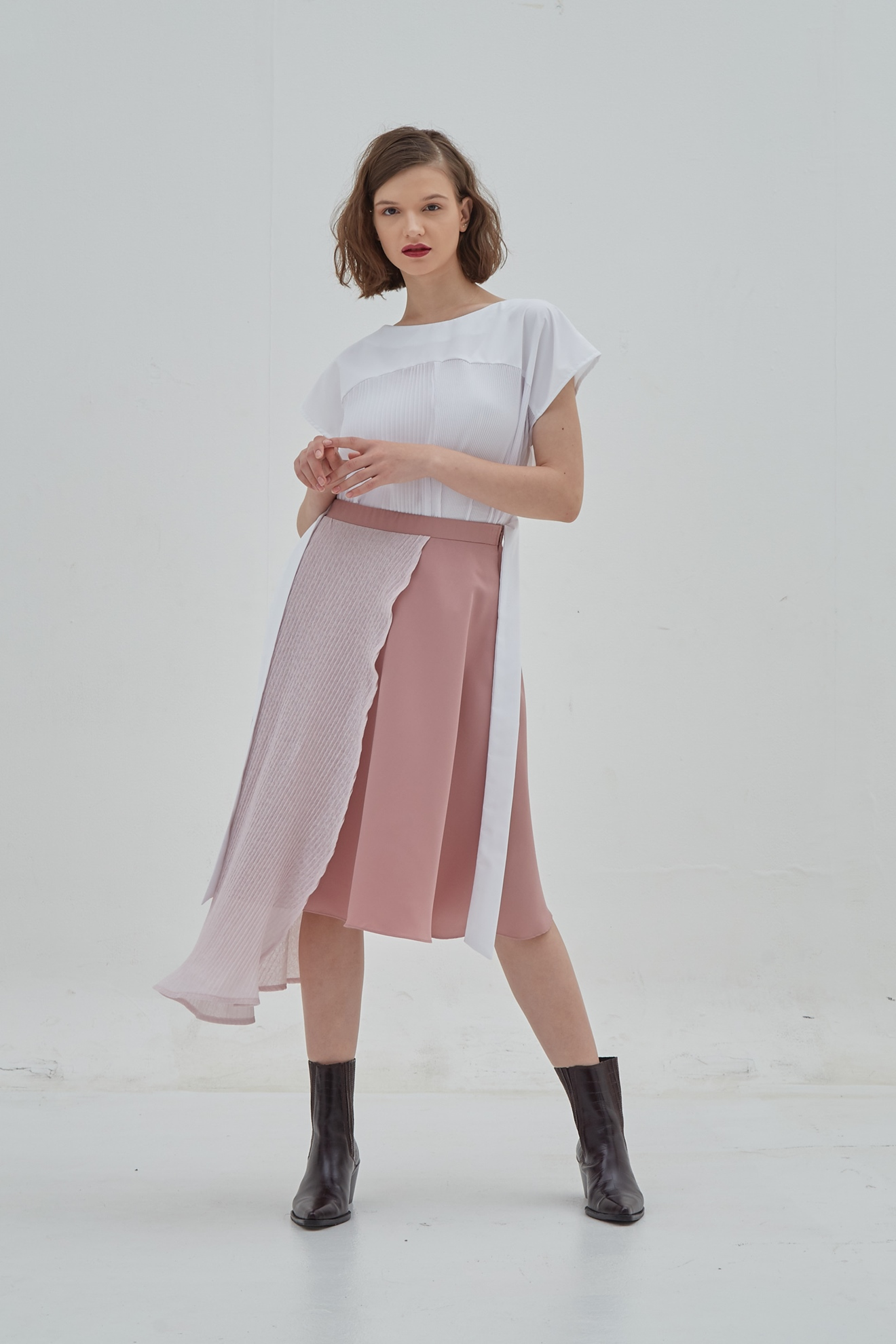 Picture of Bassil Skirt Pinky Carnation