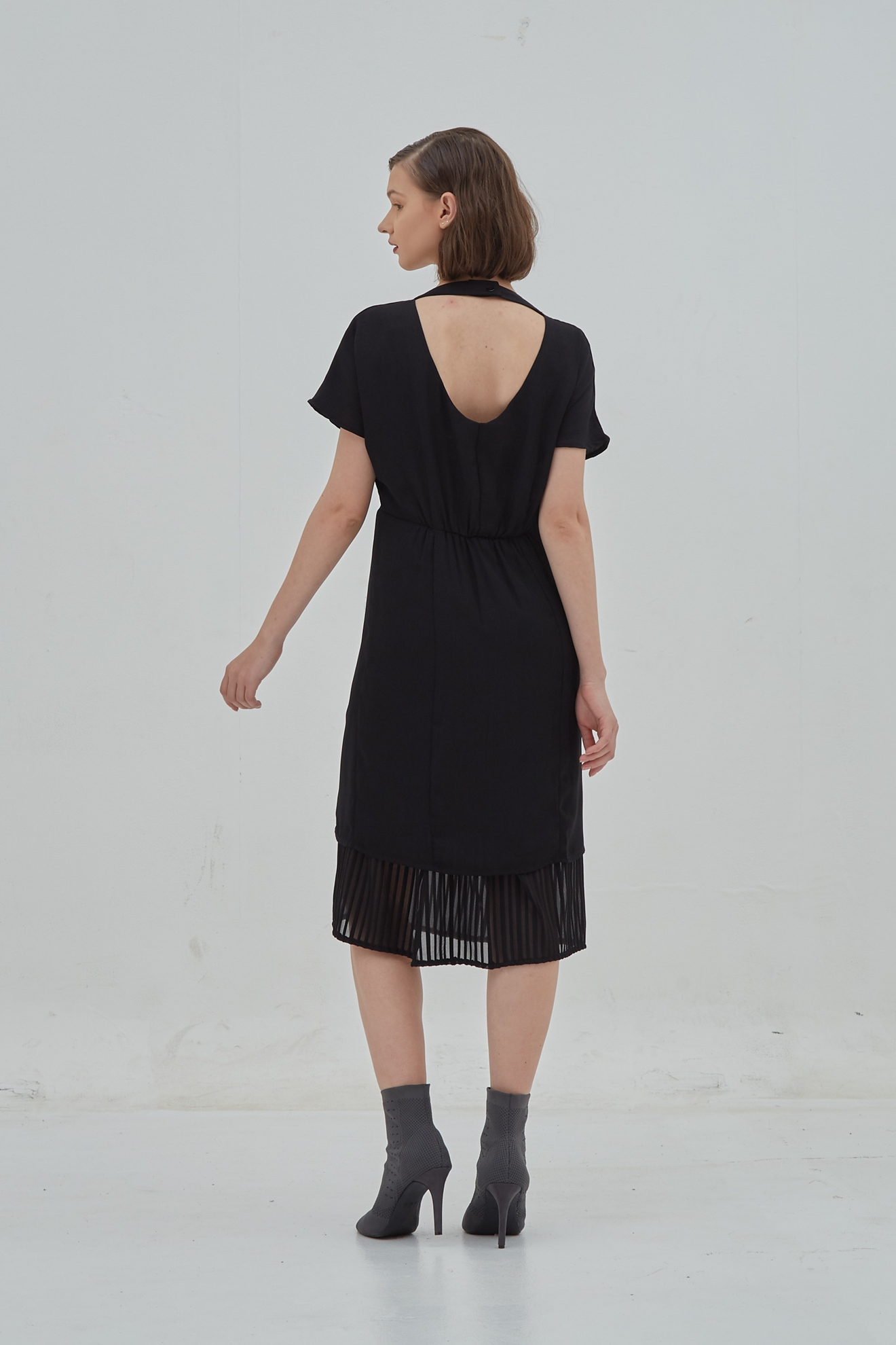 Picture of Cersei Dress Black Transparant