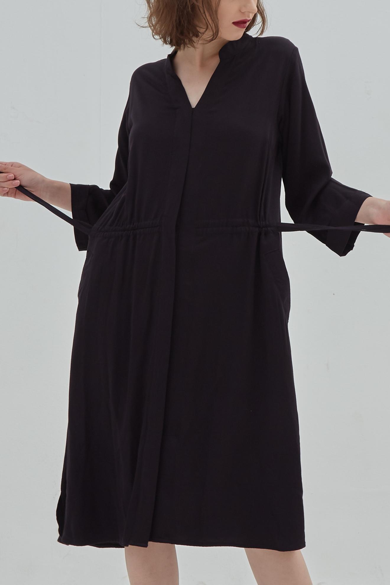 Picture of Katniss ShirtDress Black