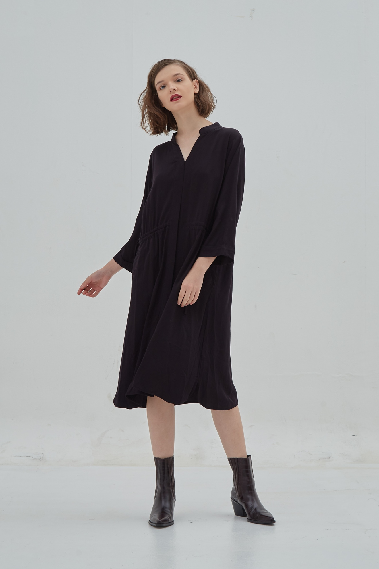 Picture of Katniss ShirtDress Black