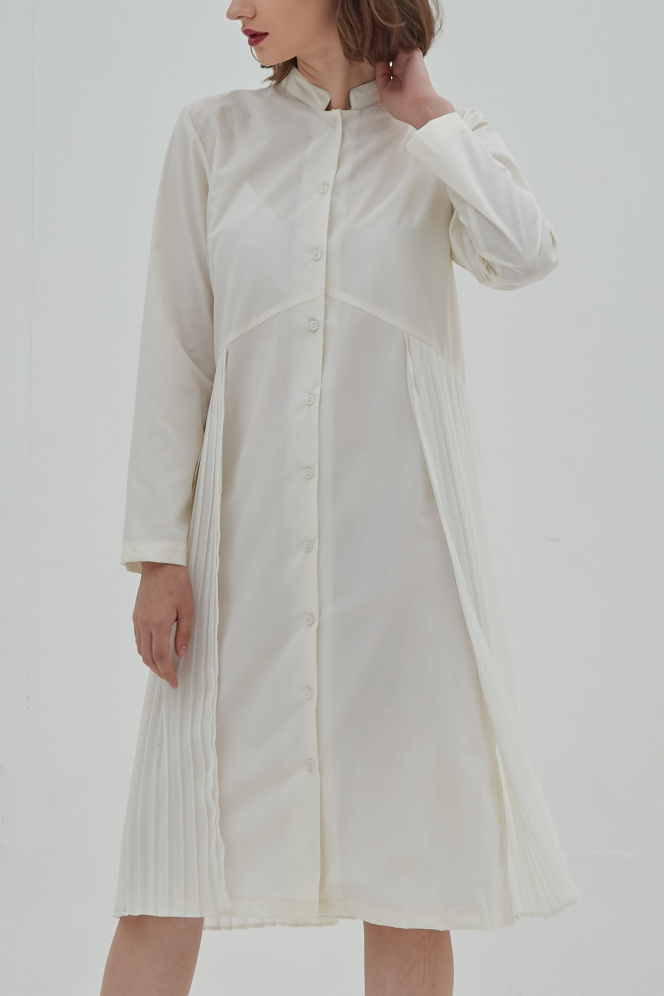 Picture of Loretta Dress Soft Papyrus
