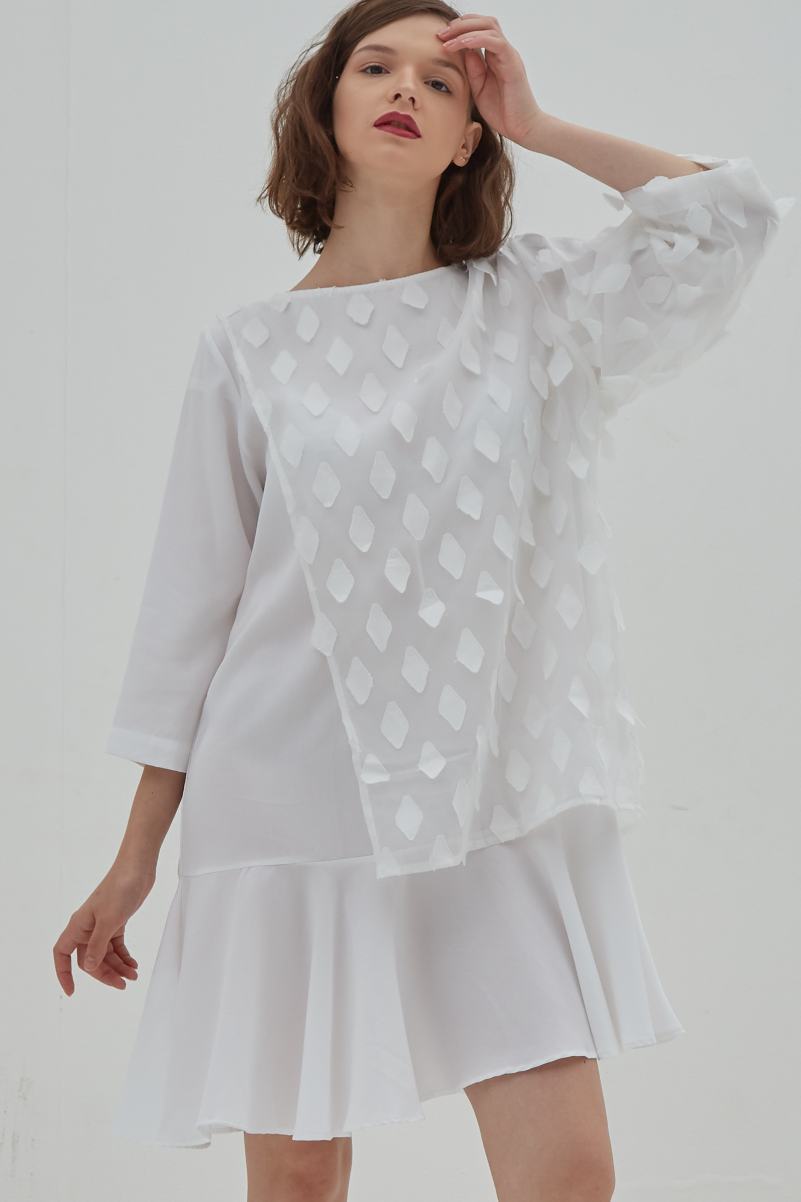 Picture of Cattleya Dress Ivory