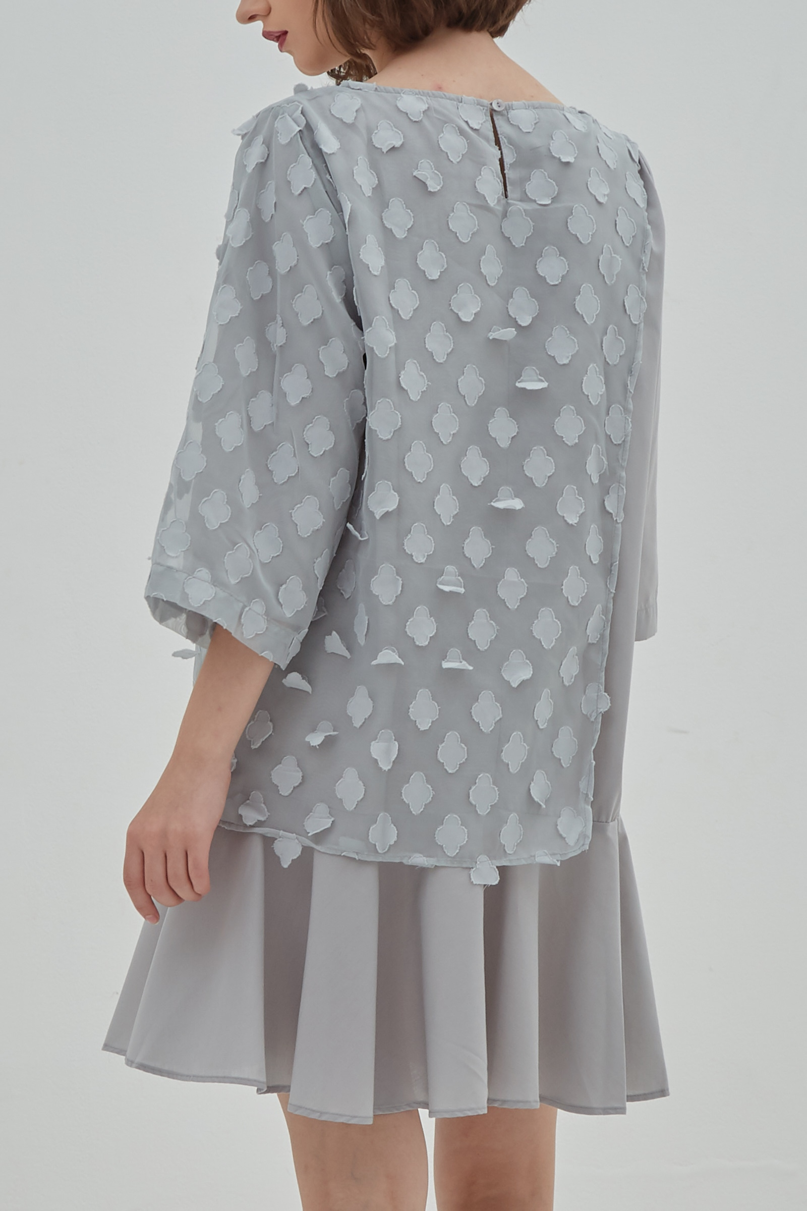 Picture of Cattleya Dress Greeny Grey