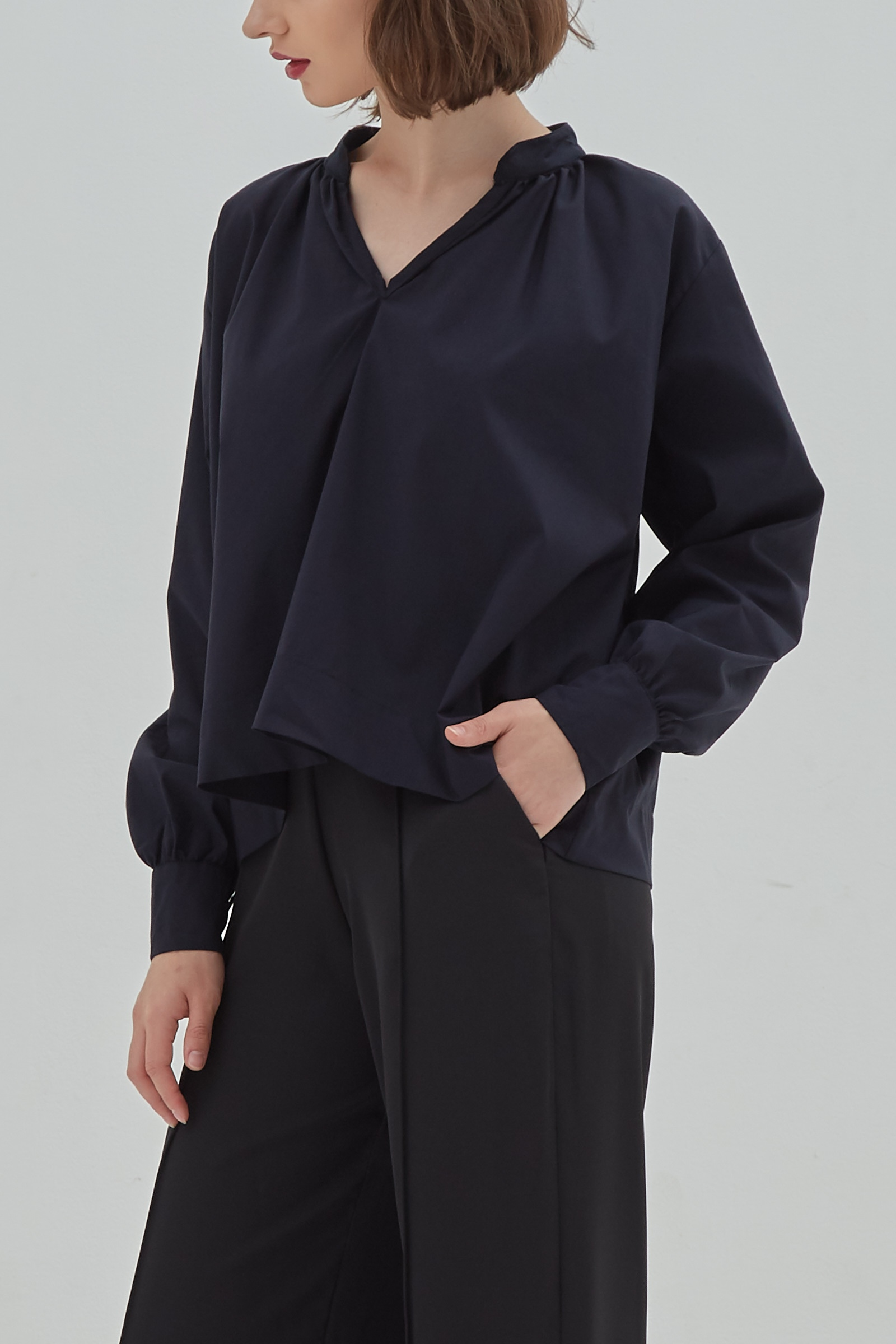 Picture of Mitchell Blouse Blueblack