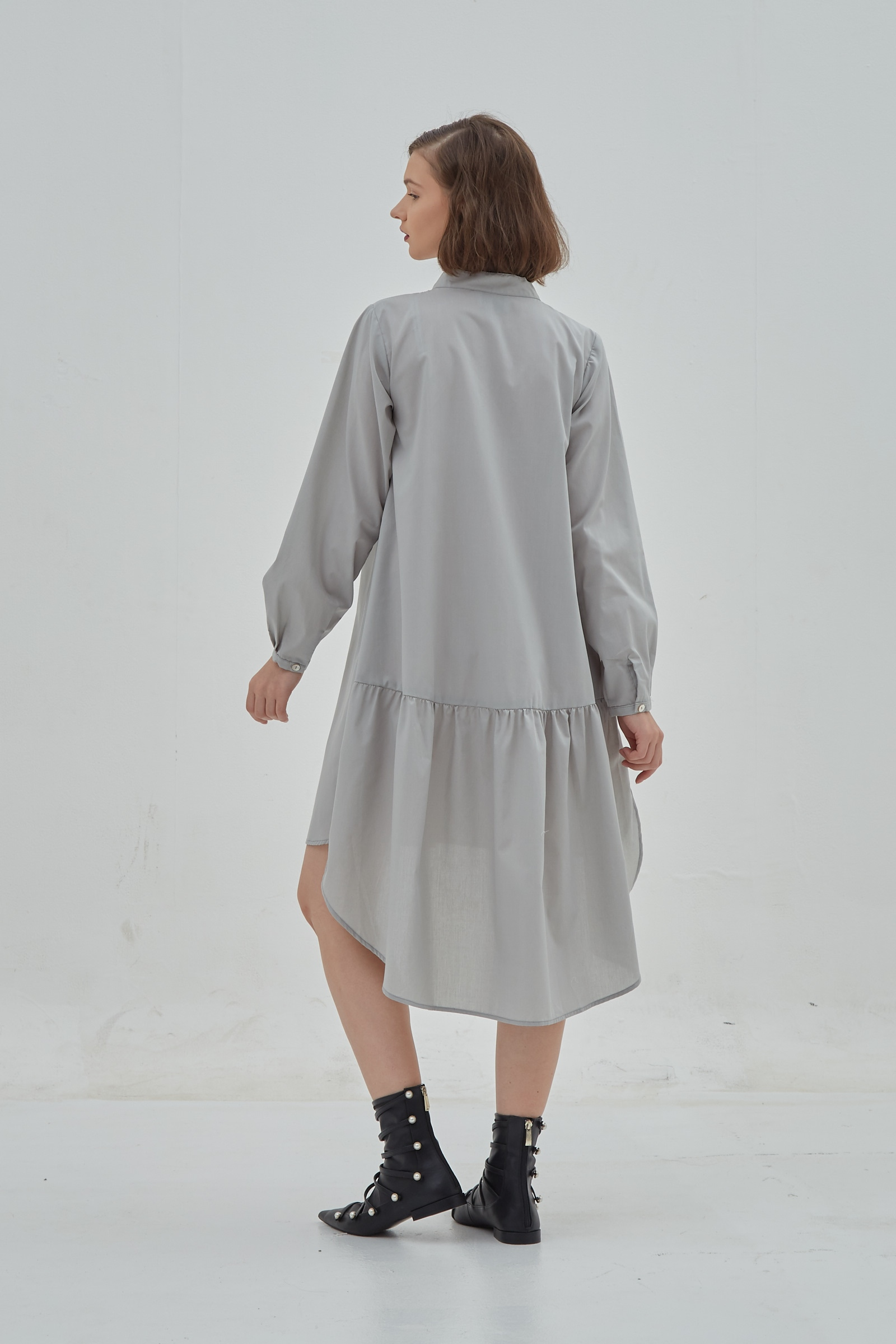 Picture of Lexia Dress Greeny Grey