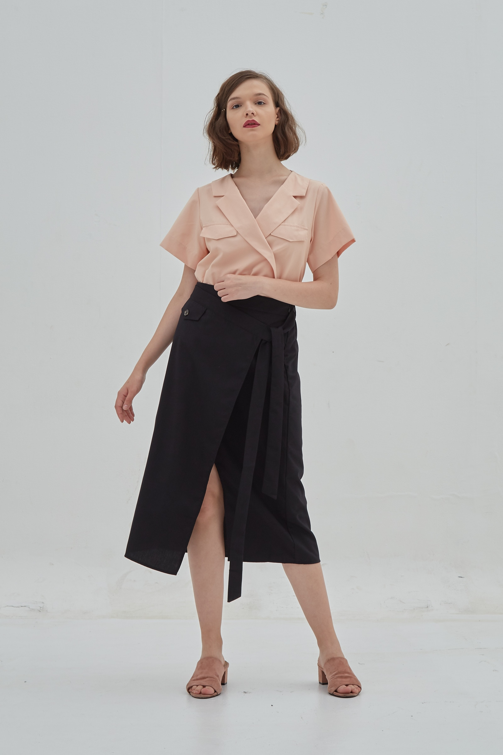 Picture of Dindra Skirt Black