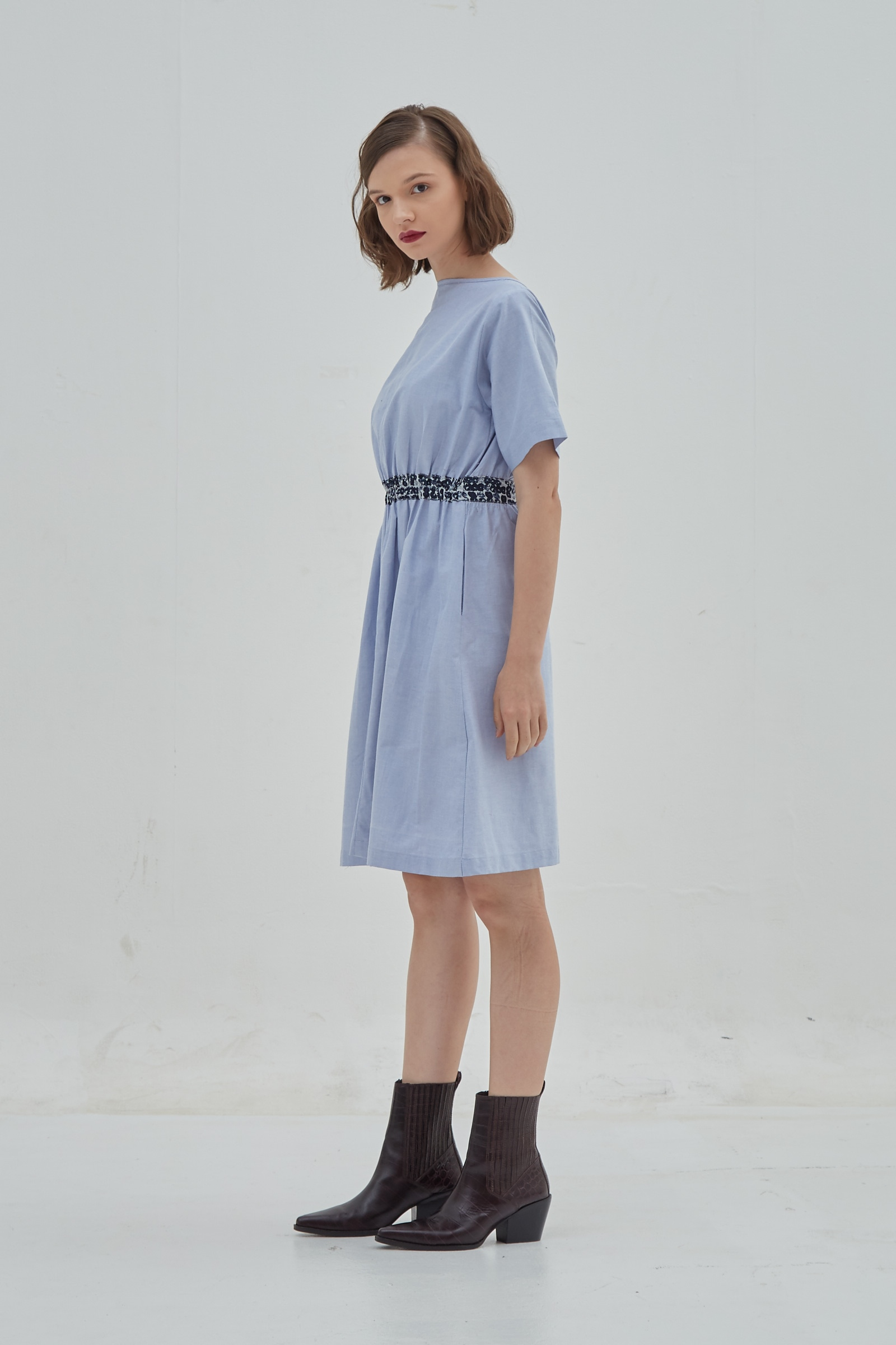 Picture of Vienna Dress BlueDot