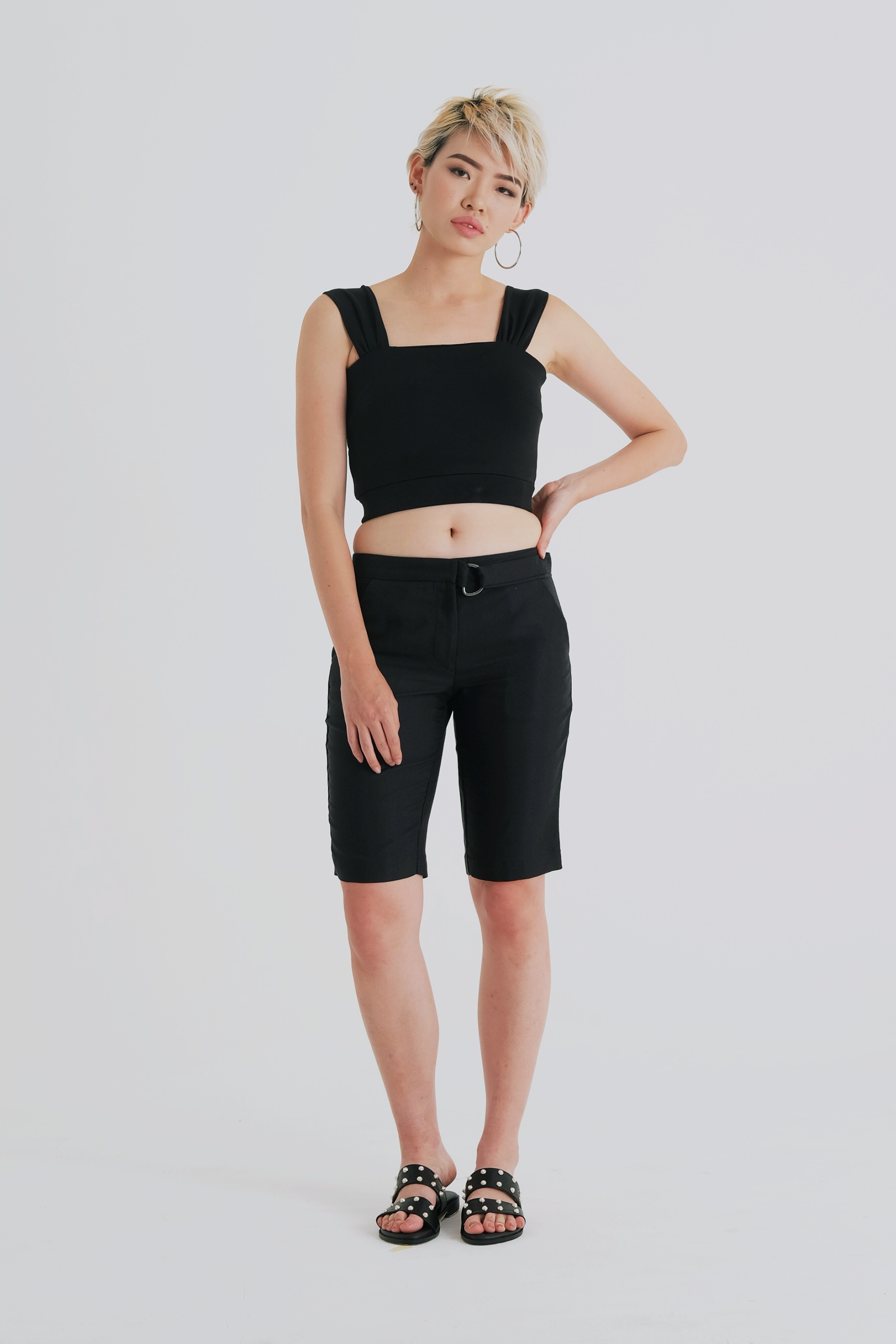 Picture of Sawyer CropTop Black