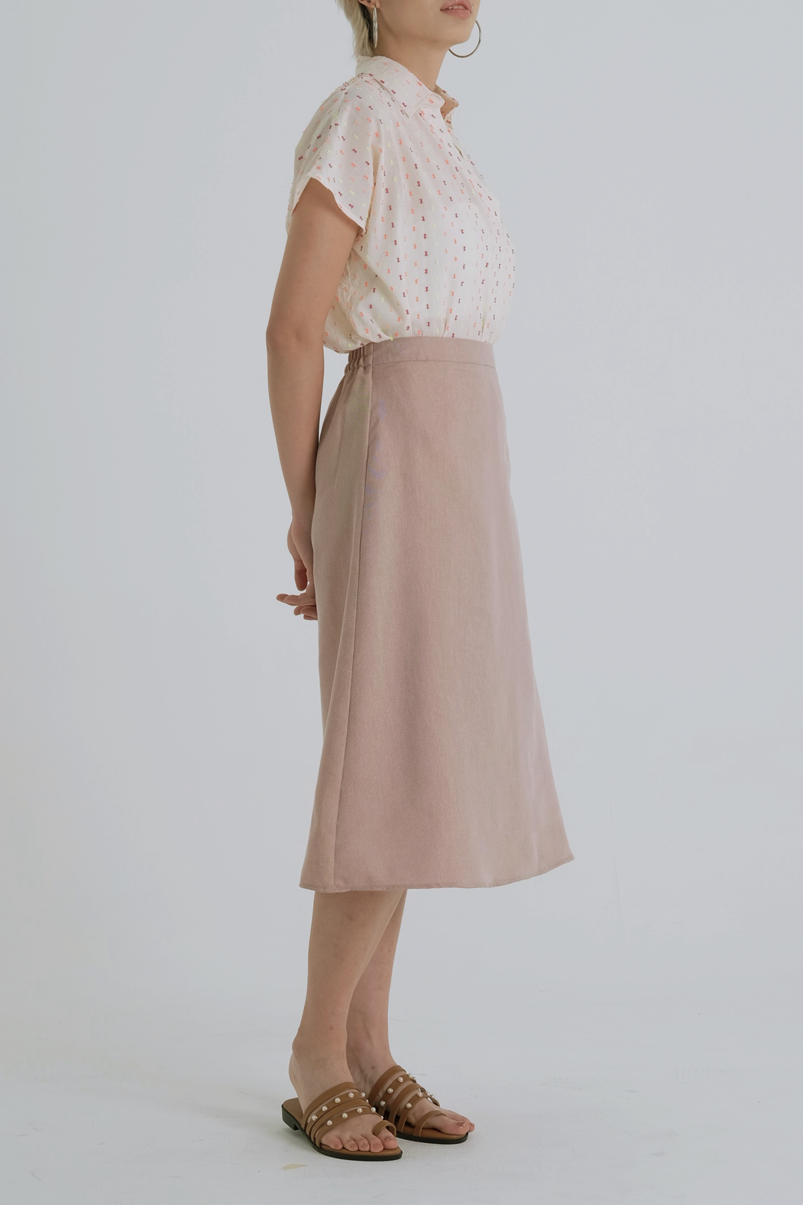 Picture of Lysa Skirt Browny Pattern