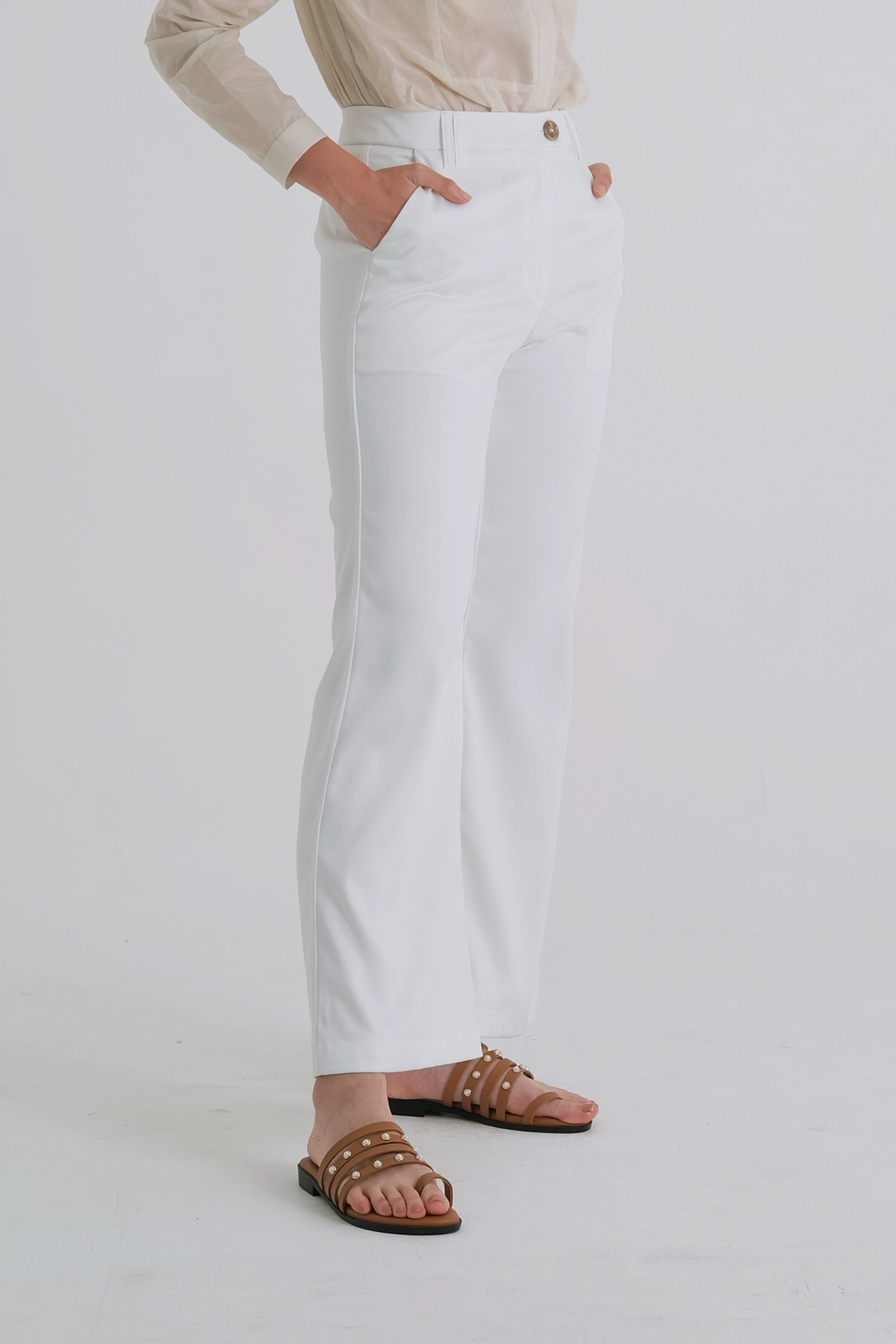 Picture of Myrcella Pants Ivory