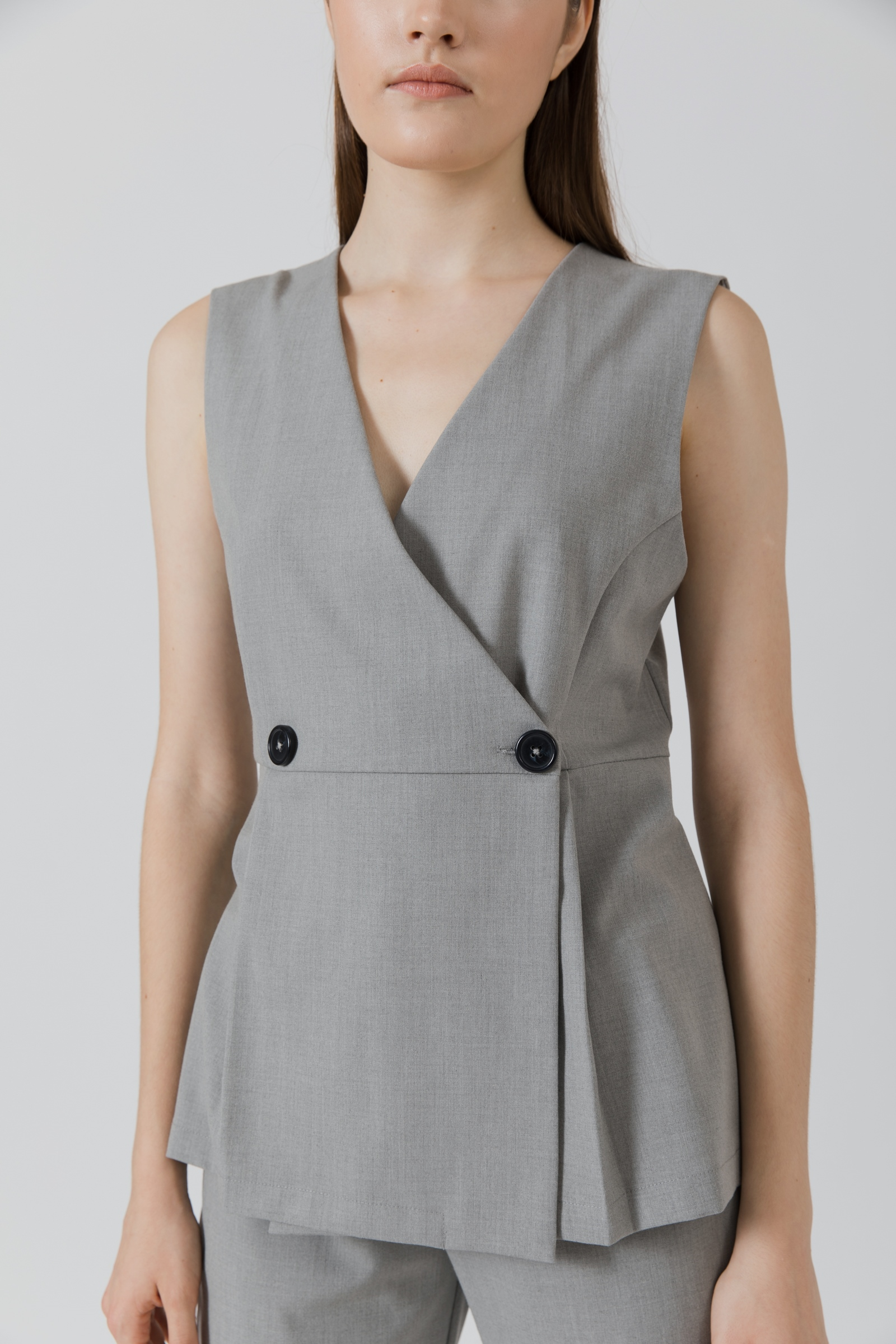 Picture of Finley Vest MistyGrey