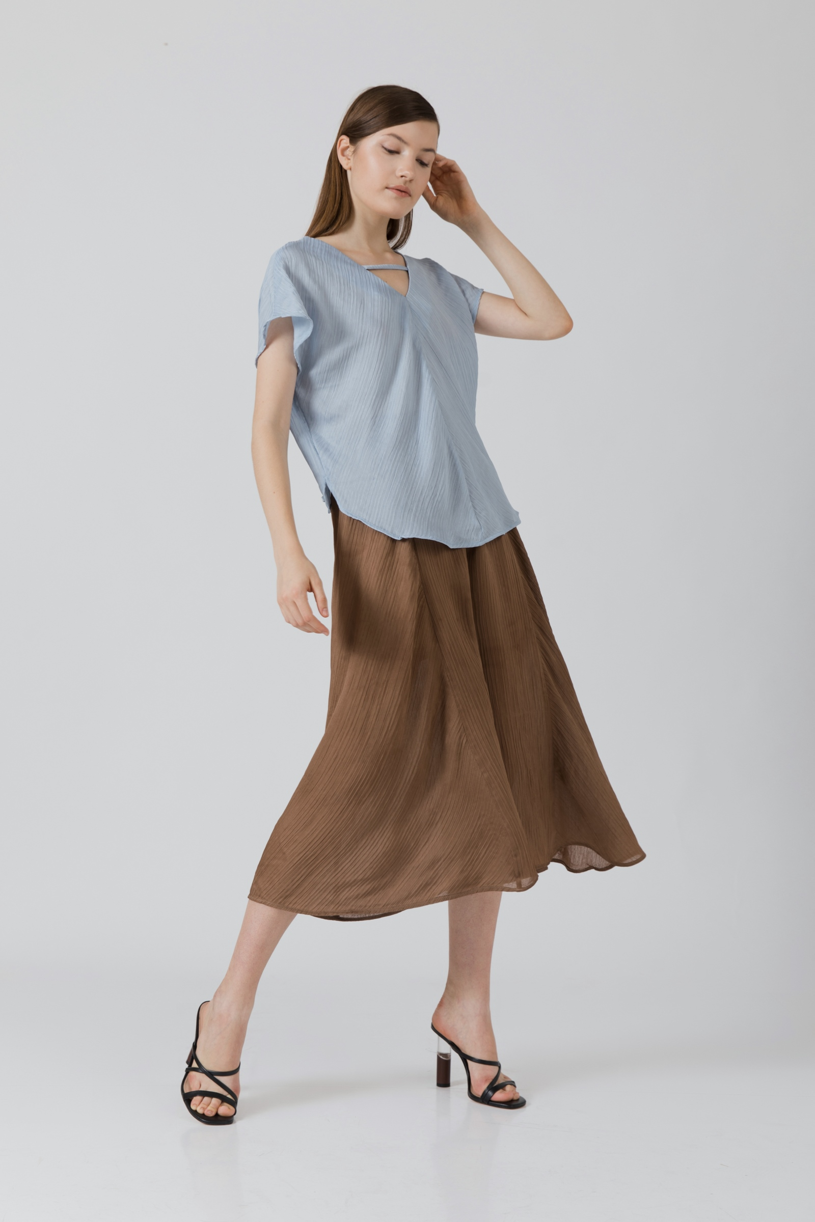 Picture of Chelvy Blouse AliceBlue