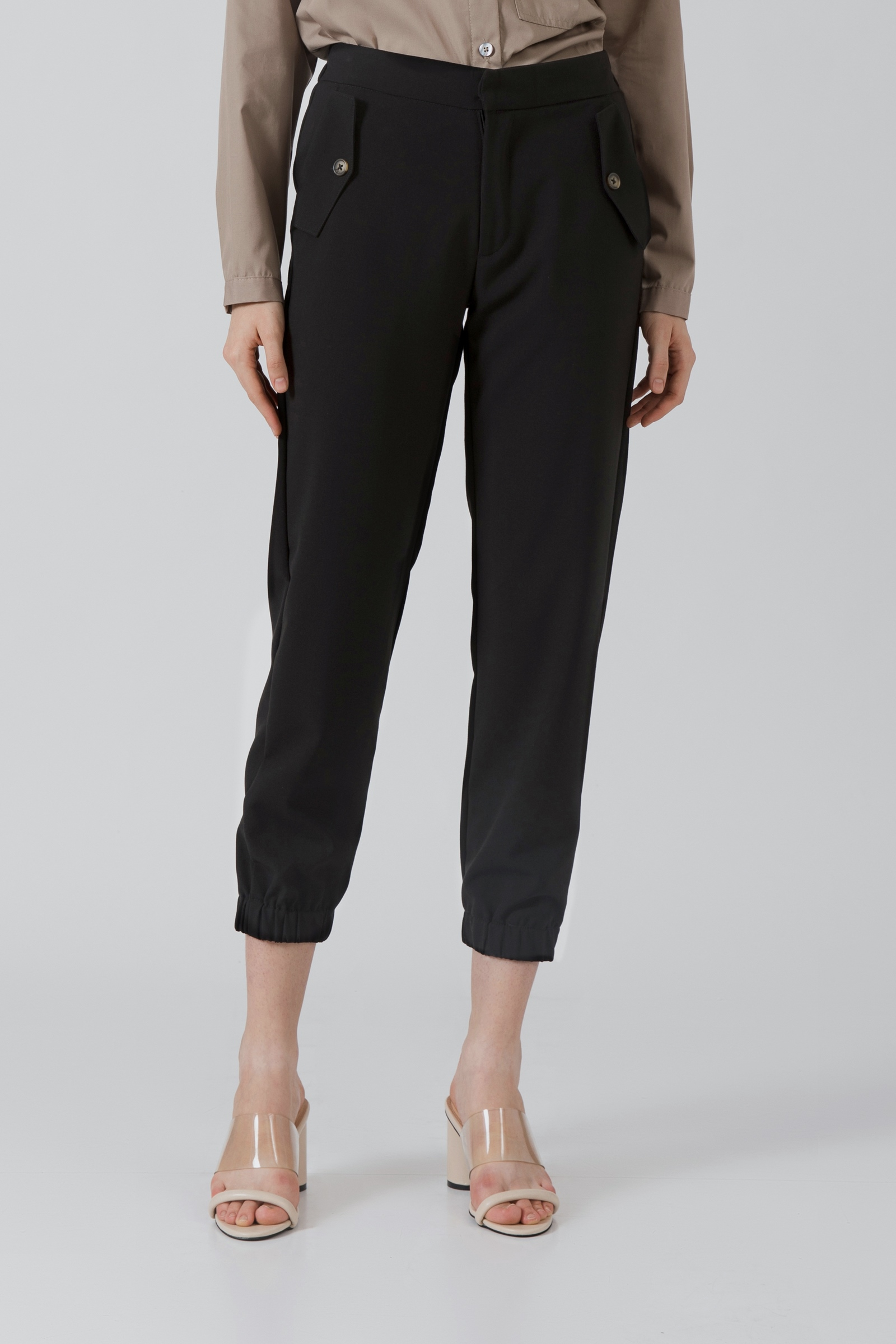 Picture of Shenzi Joger Pants  Black