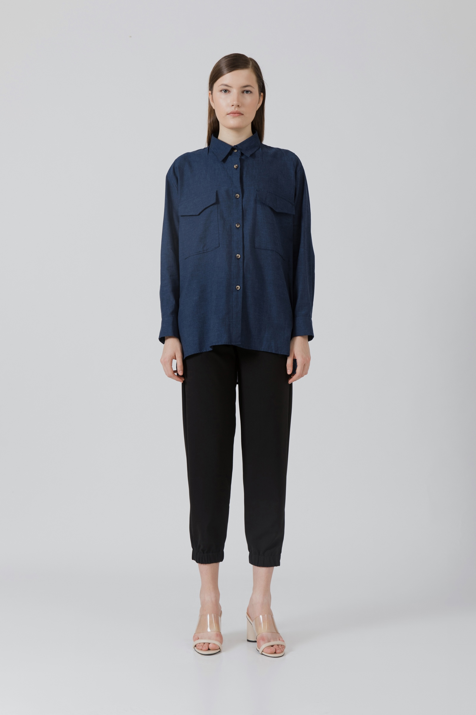 Picture of Minerva Shirt Jeans Pattern