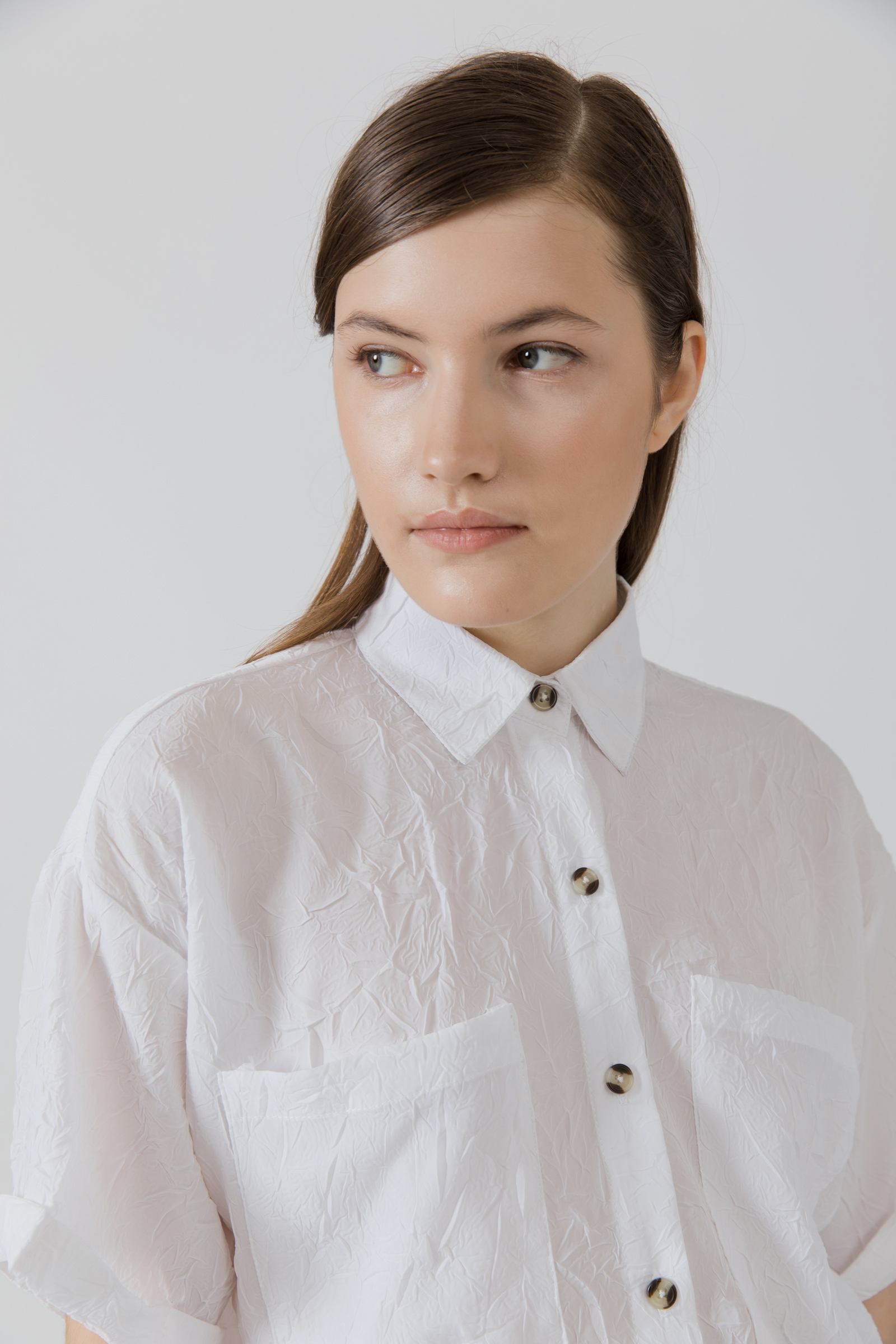 Picture of Niella Shirt Ivory Wrinkle