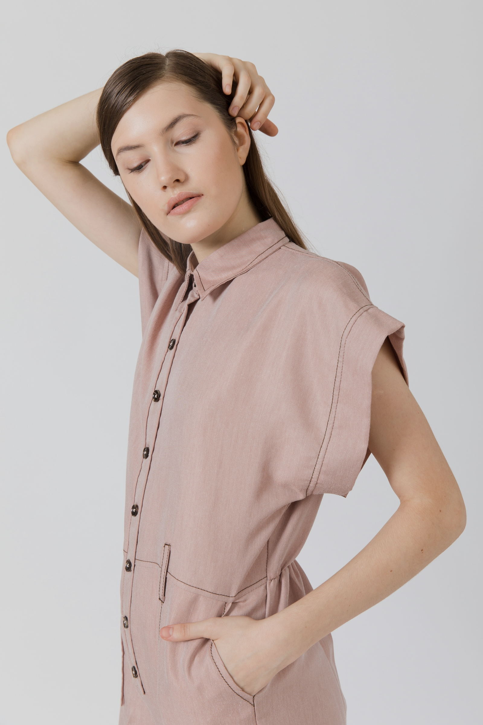 Picture of Gotana Jumpsuit BrownTwotone