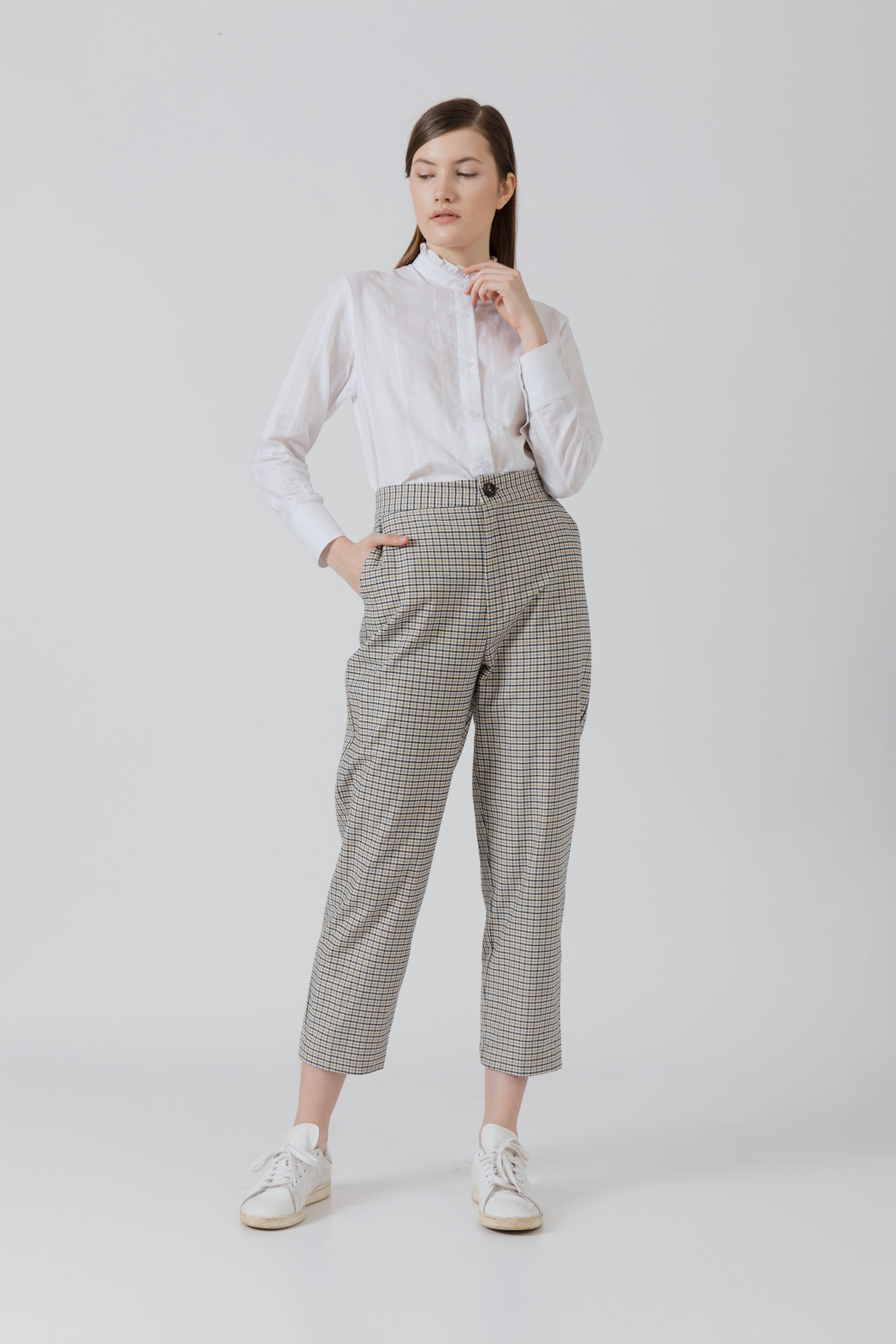Picture of Ukari Pants Mix Checkered