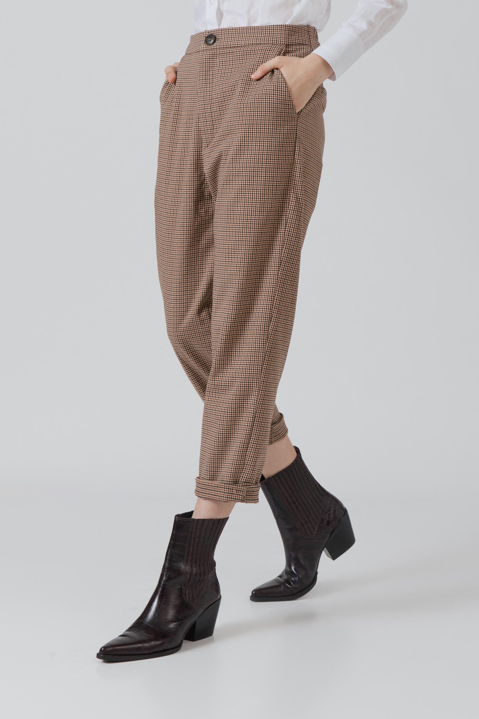 Picture of Ukari Pants Dark Checkered