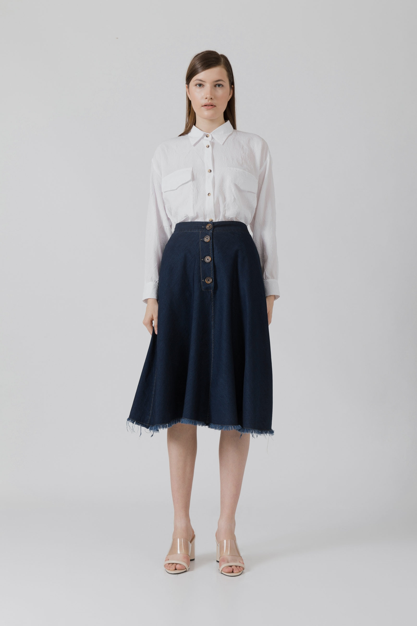 Picture of Artemia Jeans Skirt