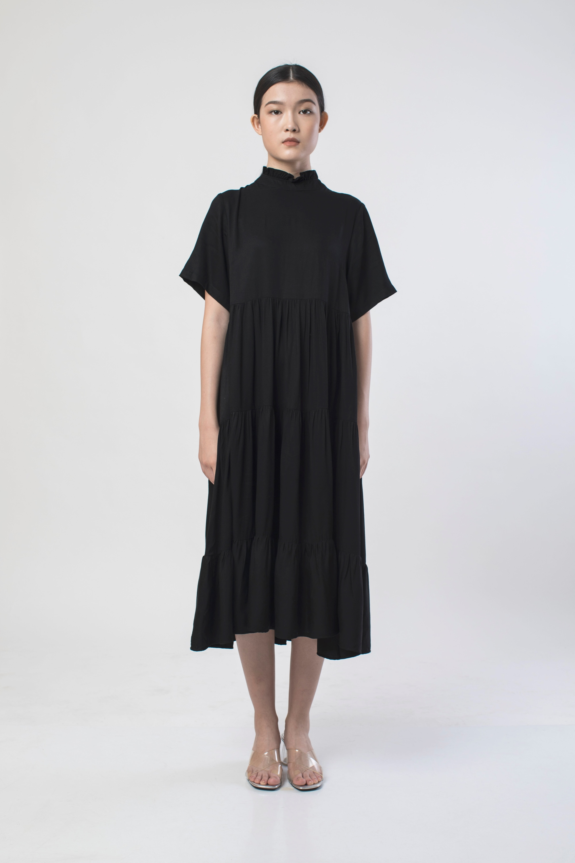 Picture of ARCANANIA DRESS BLACK