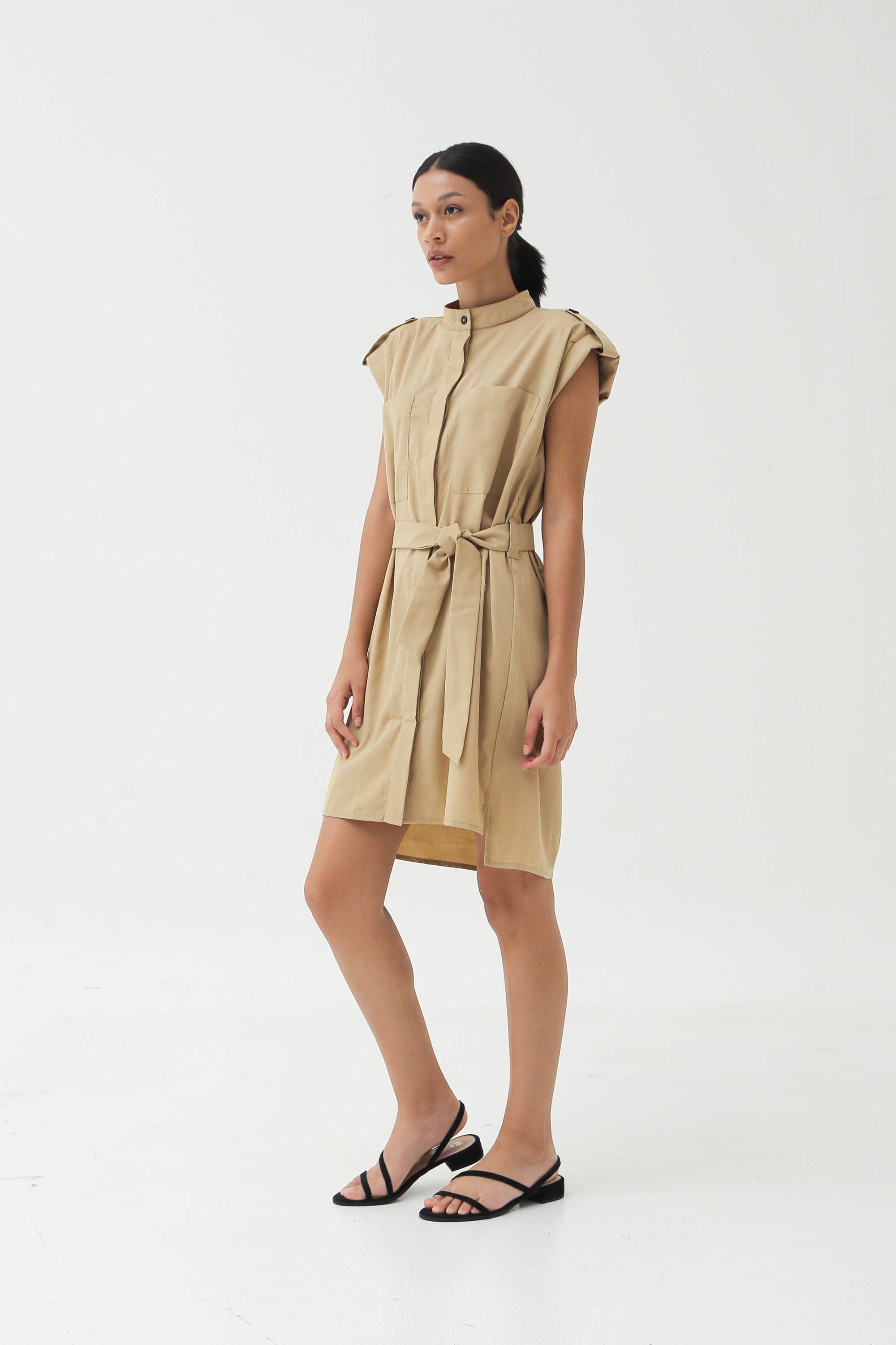 Picture of MOLITA DRESS MILKY BROWN
