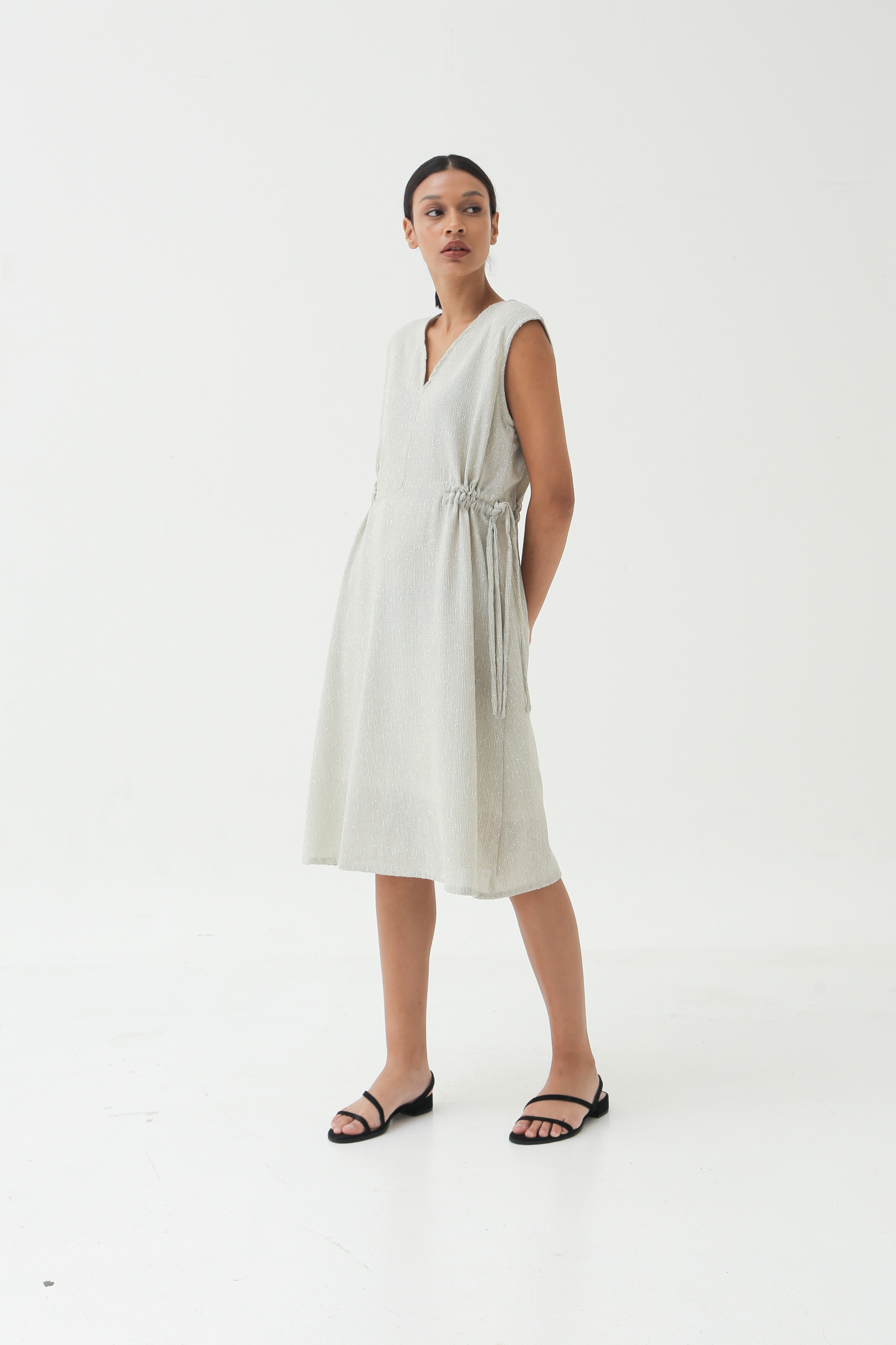 Picture of MARSHILLA DRESS NEUTRAL TWOTONE