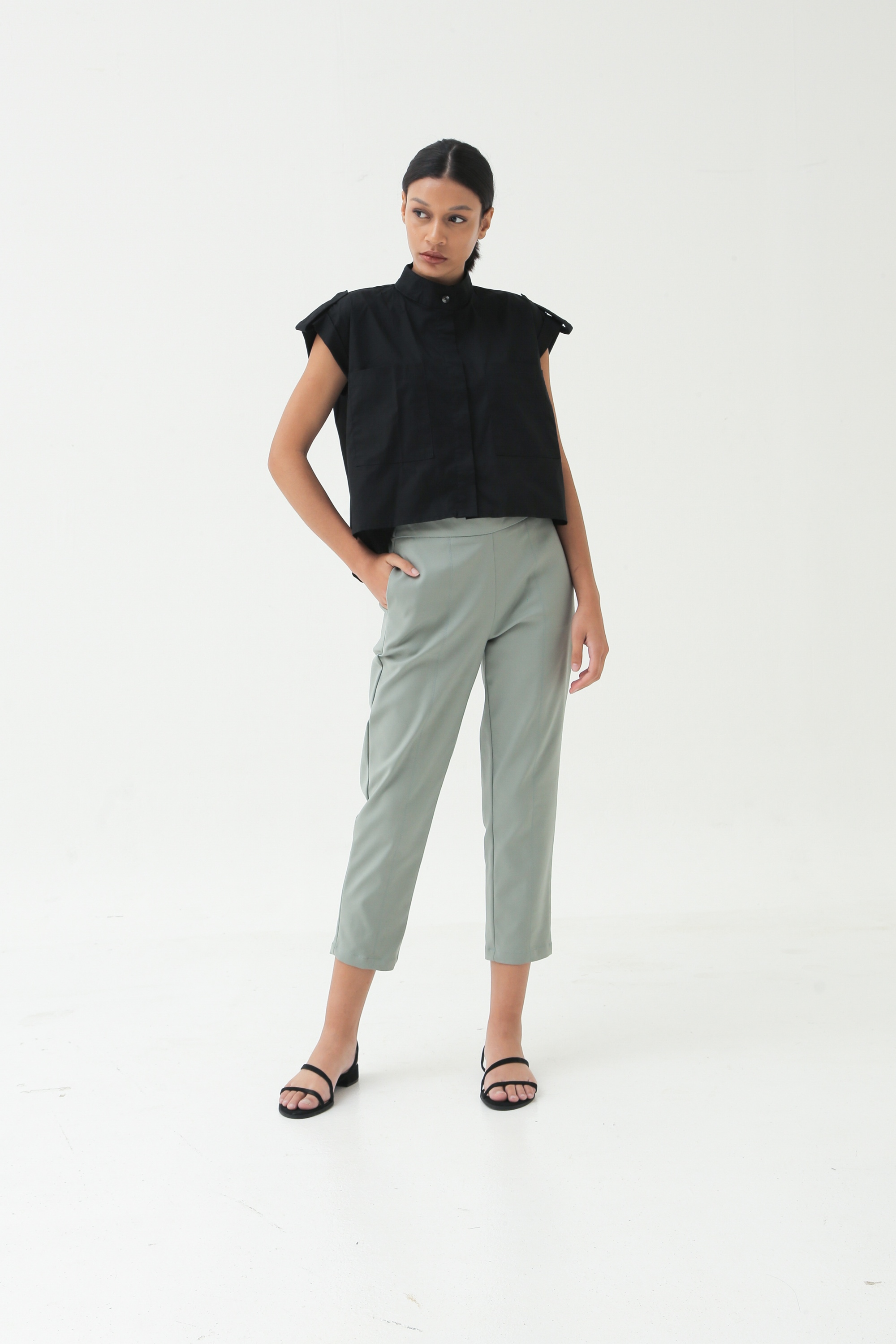 Picture of DONDI PANTS SAGEGREEN