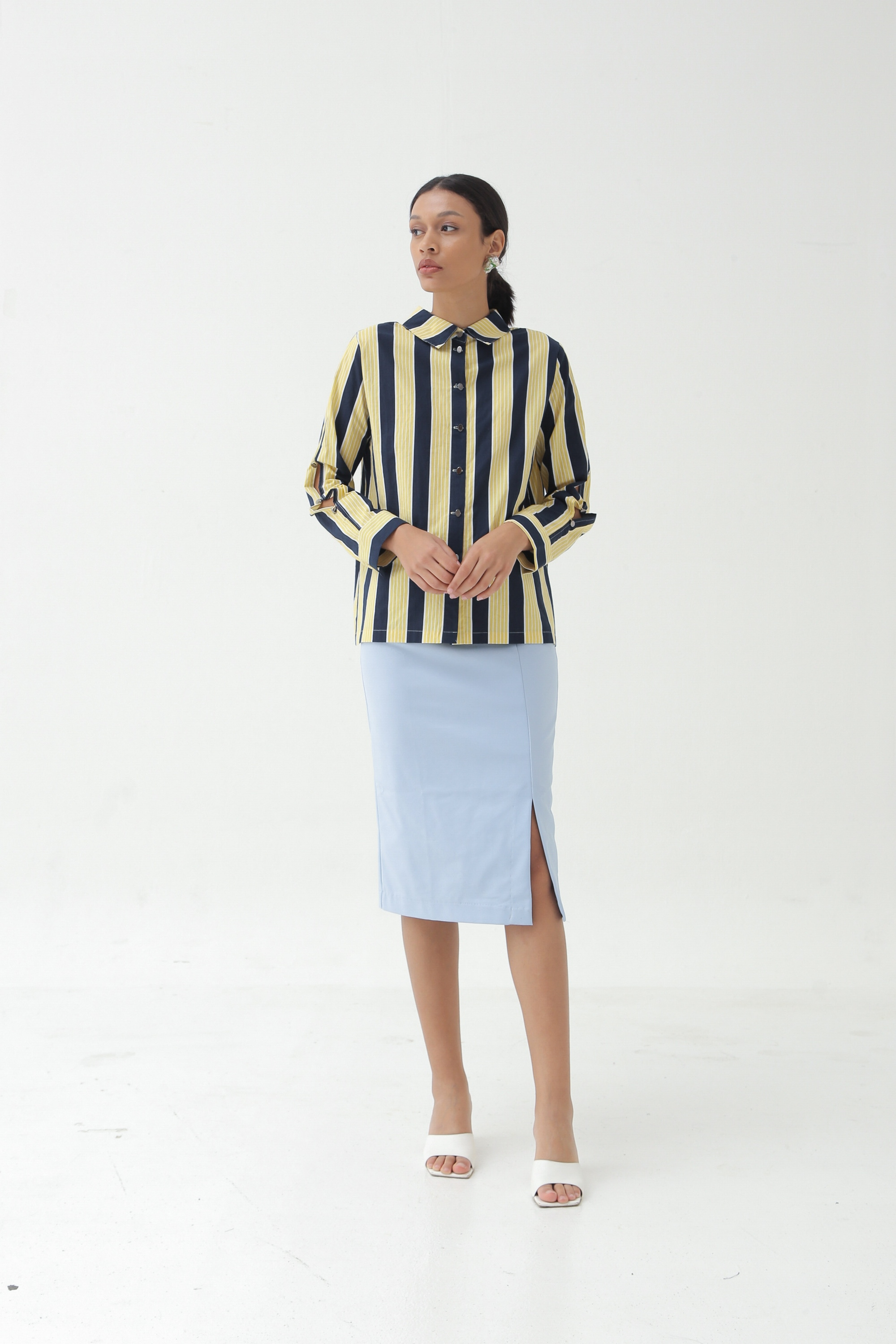 Picture of FANCHON SHIRT SOFT BANANA STRIPES