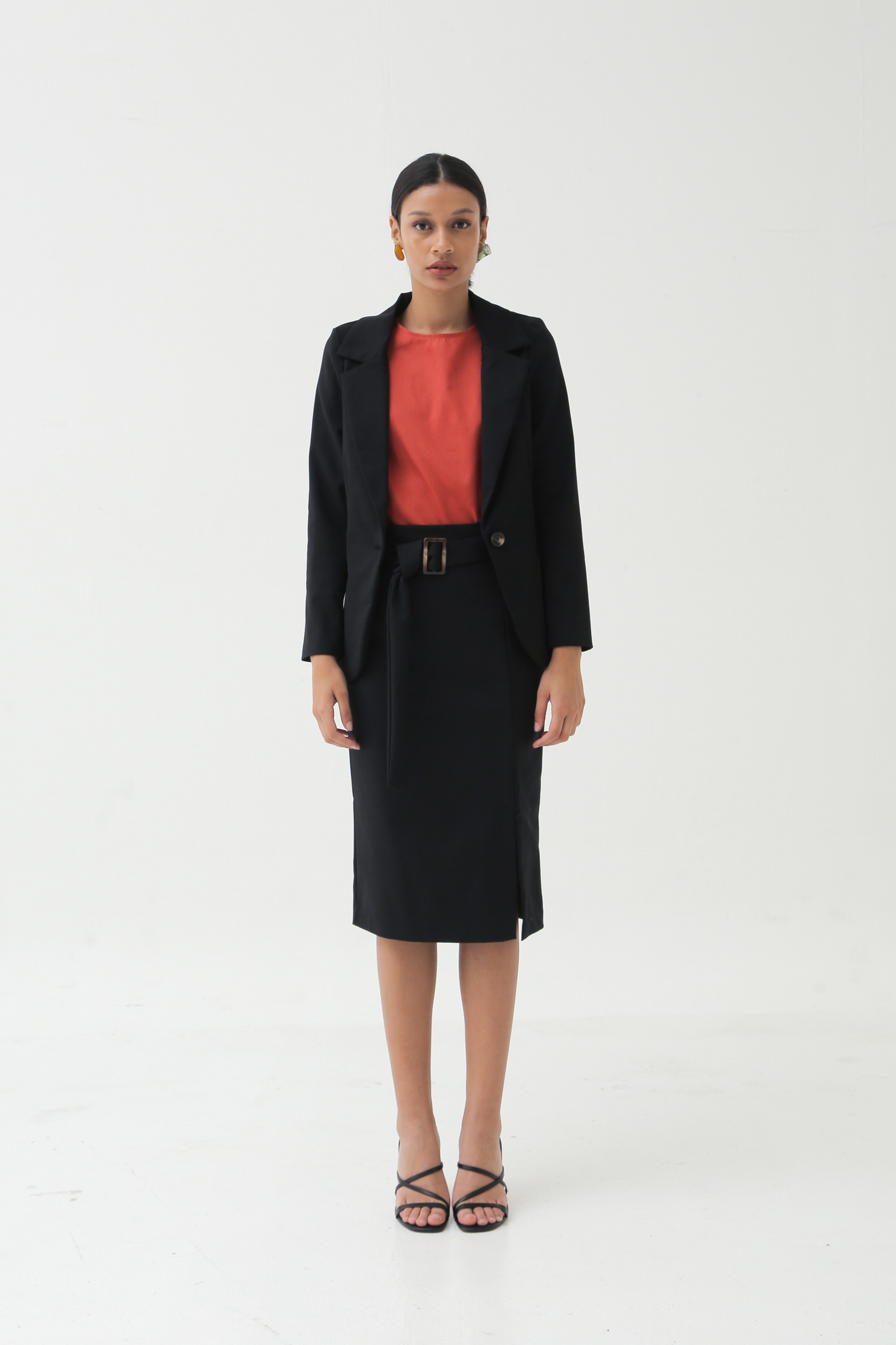 Picture of SHEHER BLAZER BLACK