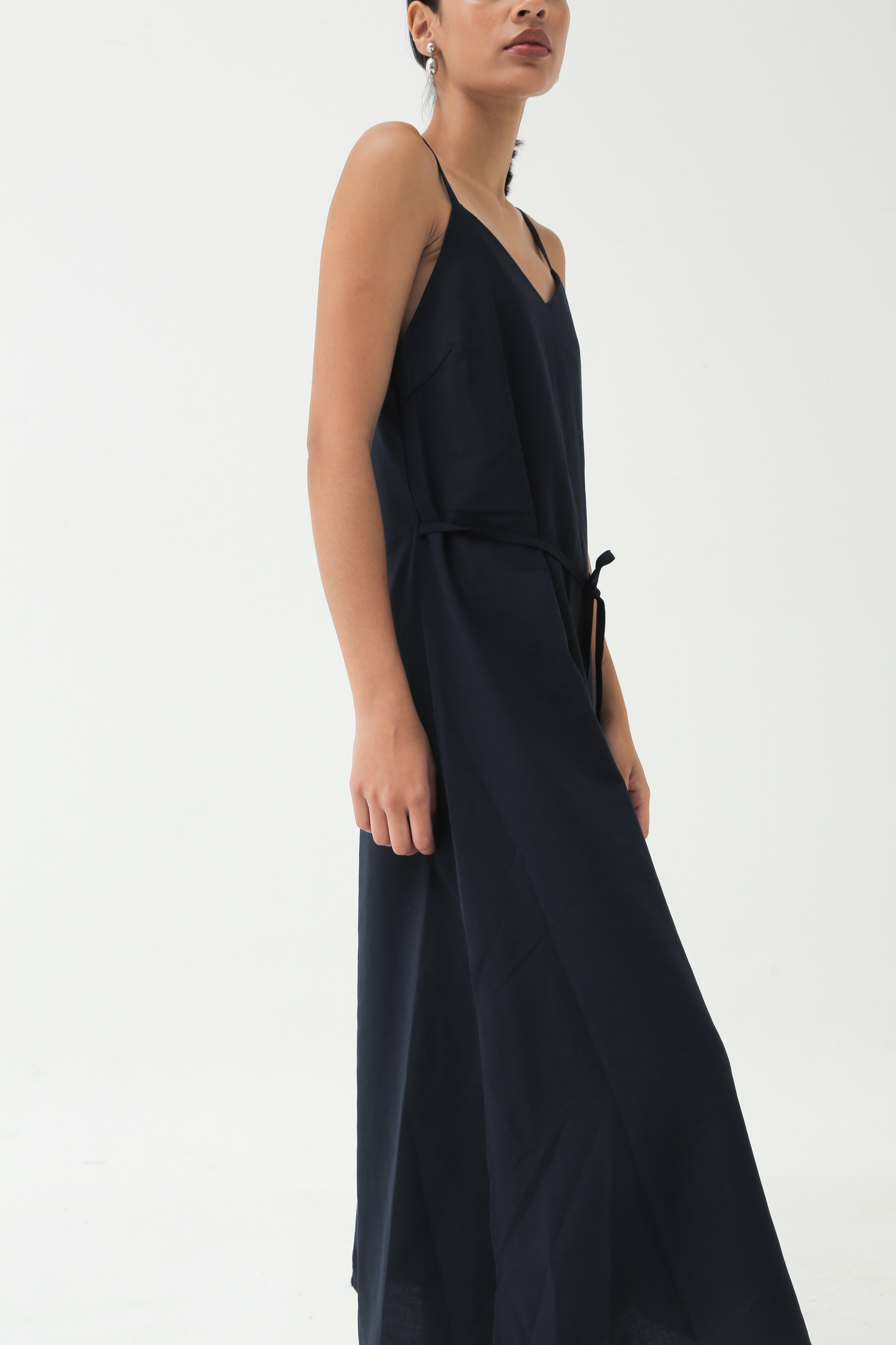 Picture of FLYN DRESS BLUE BLACK