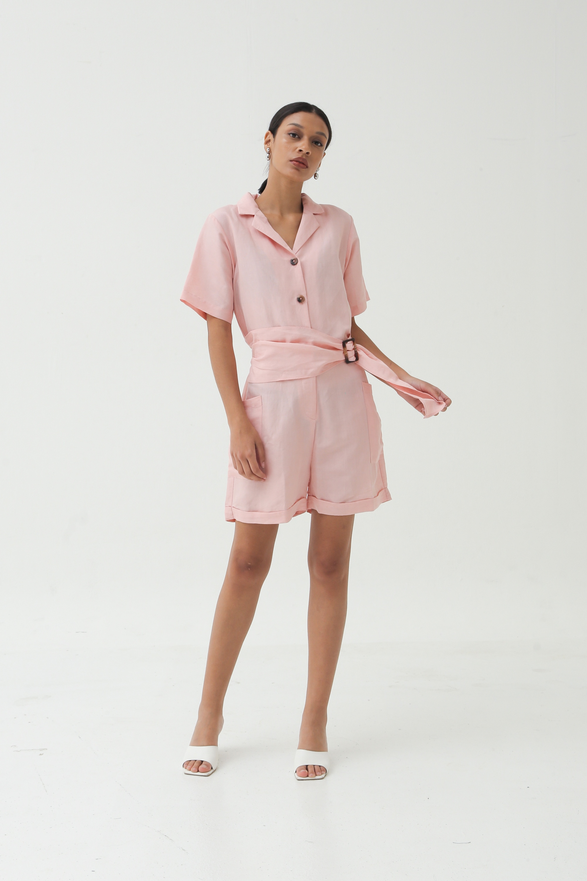Picture of DARLENE PLAYSUIT BLUSH