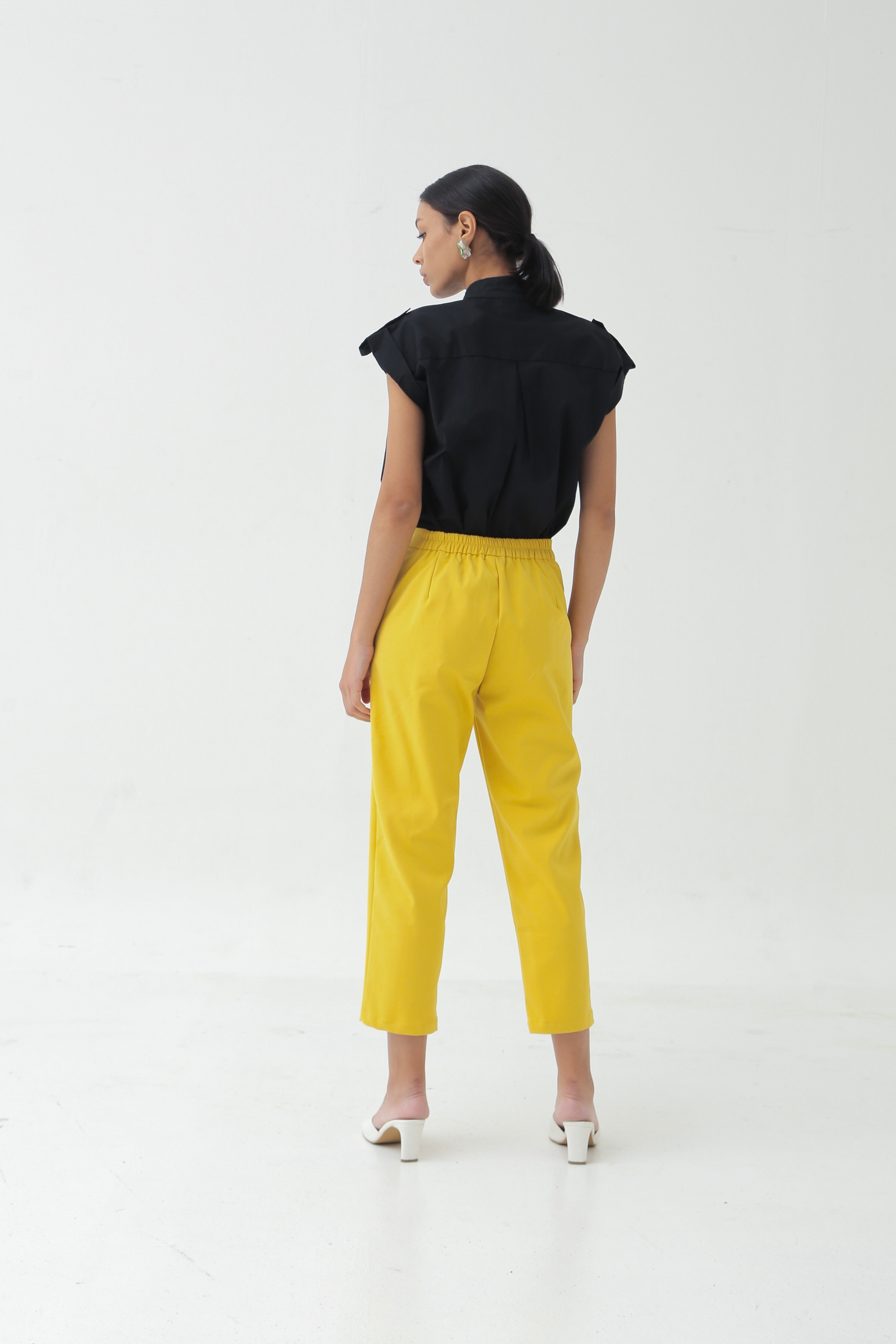 Picture of DONDI PANTS PRIMROSE YELLOW