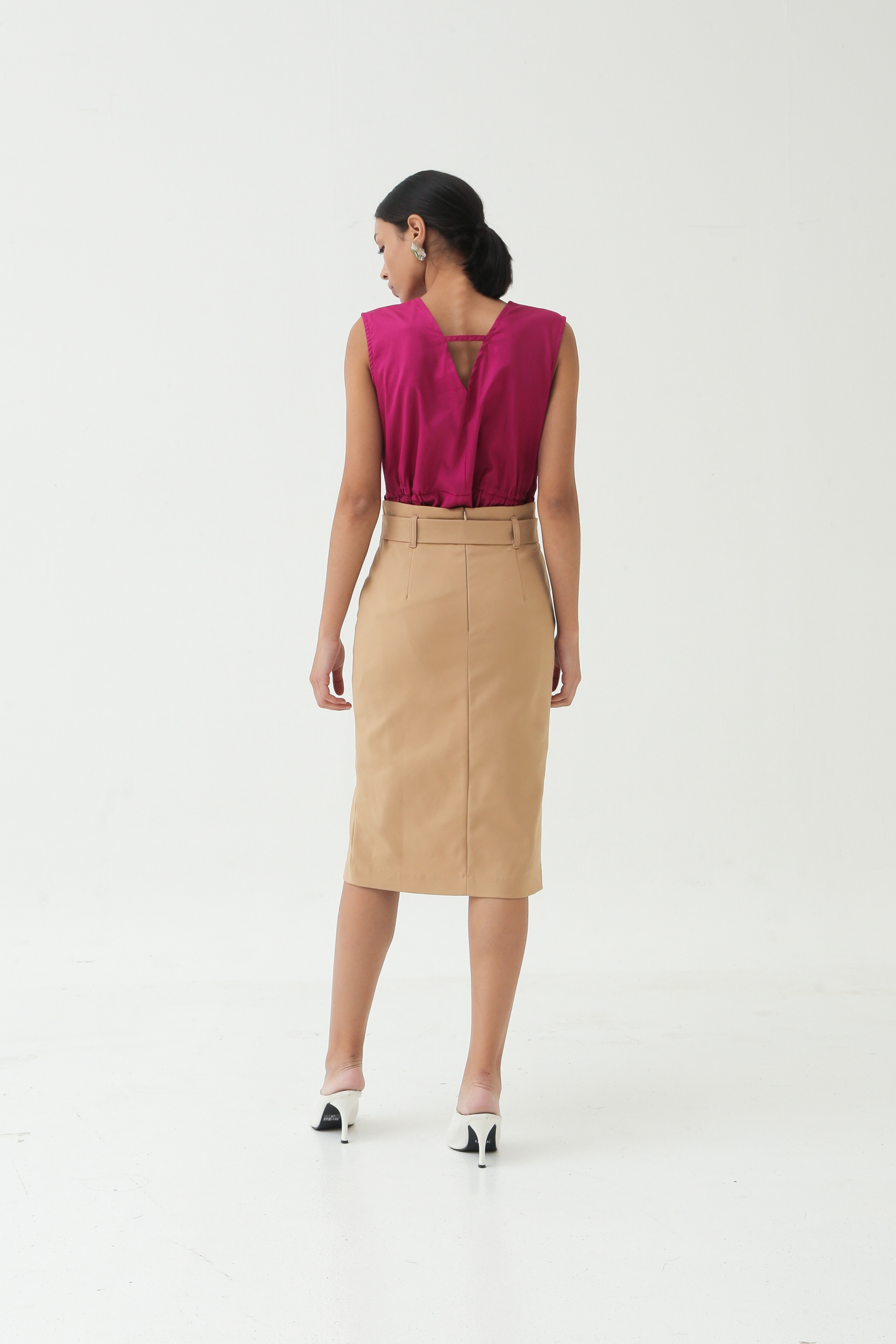 Picture of DEVOTE SKIRT MILKY BROWN