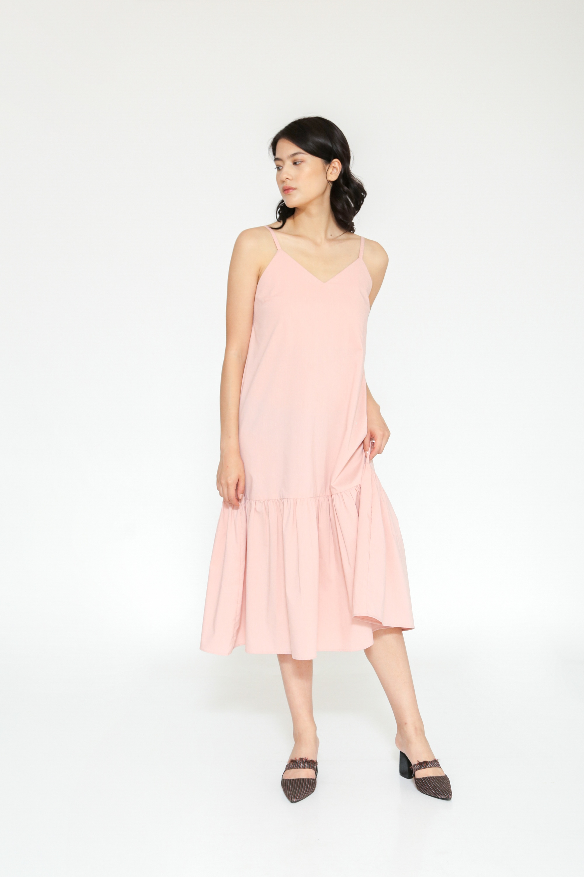 Picture of FLUENZA DRESS ROSE PINK