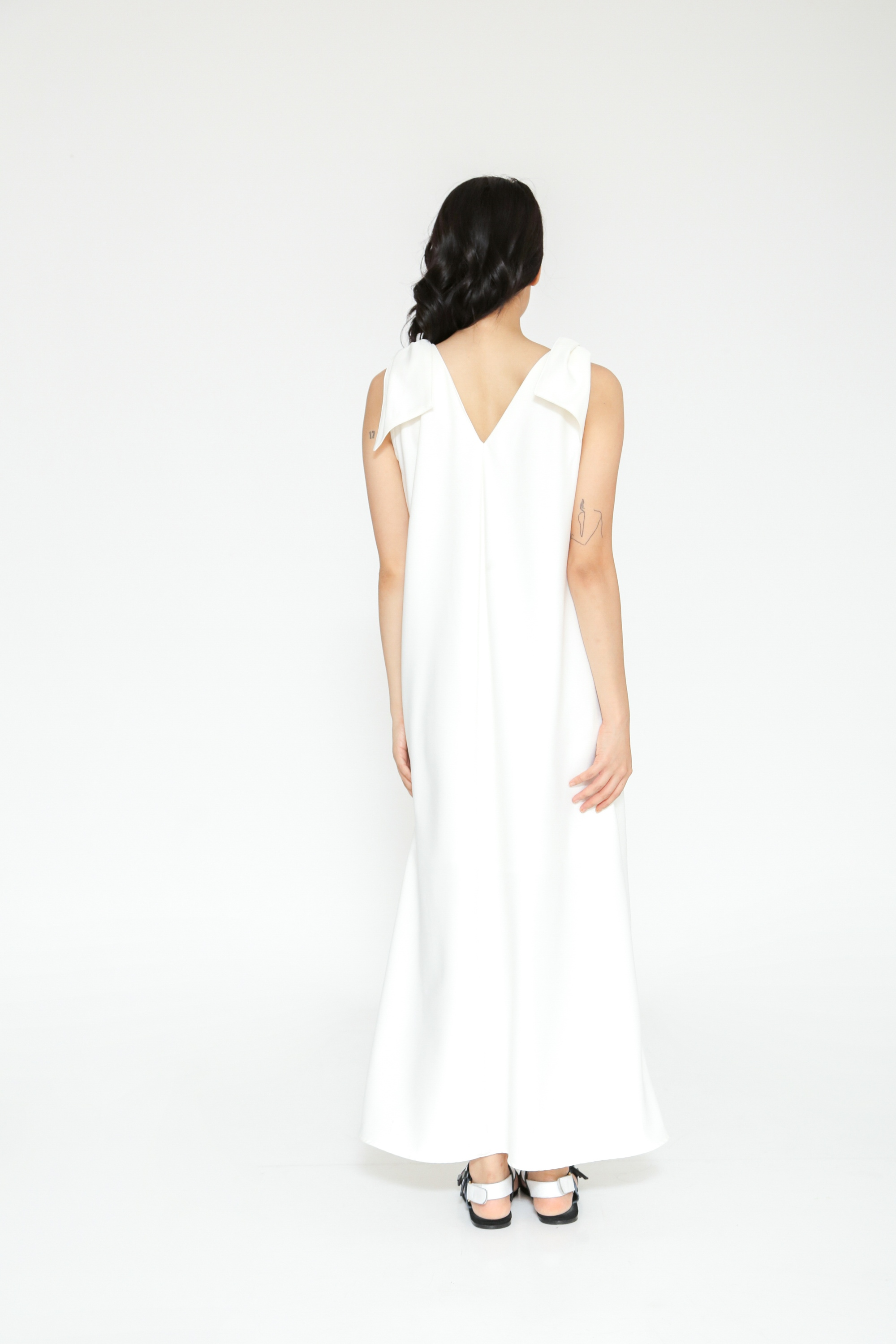 Picture of CHIONE DRESS IVORY